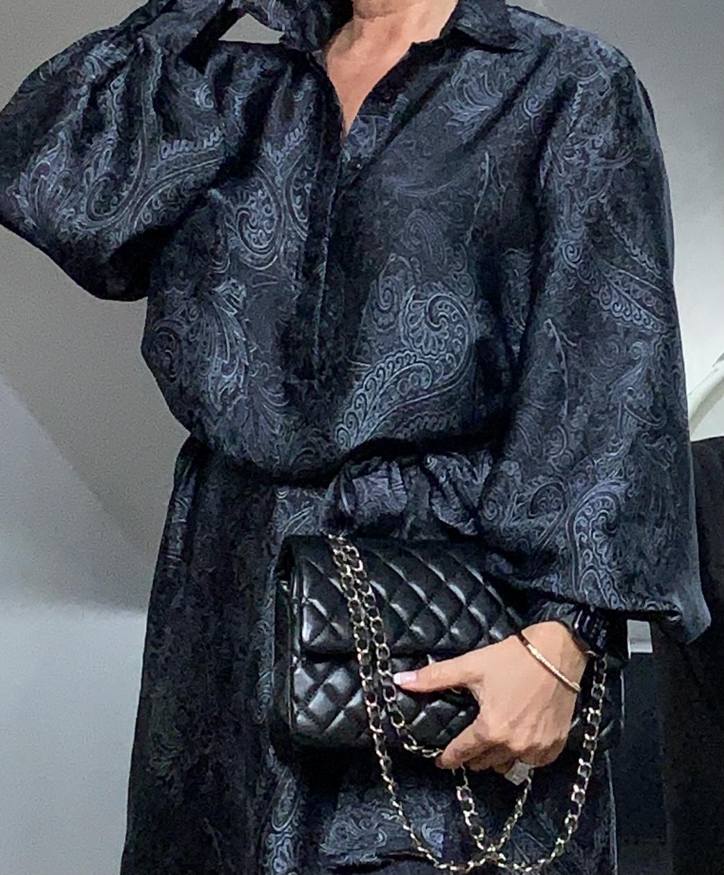 KARMAMIA Millie Dress - Denim Deco IMAGE BY ME