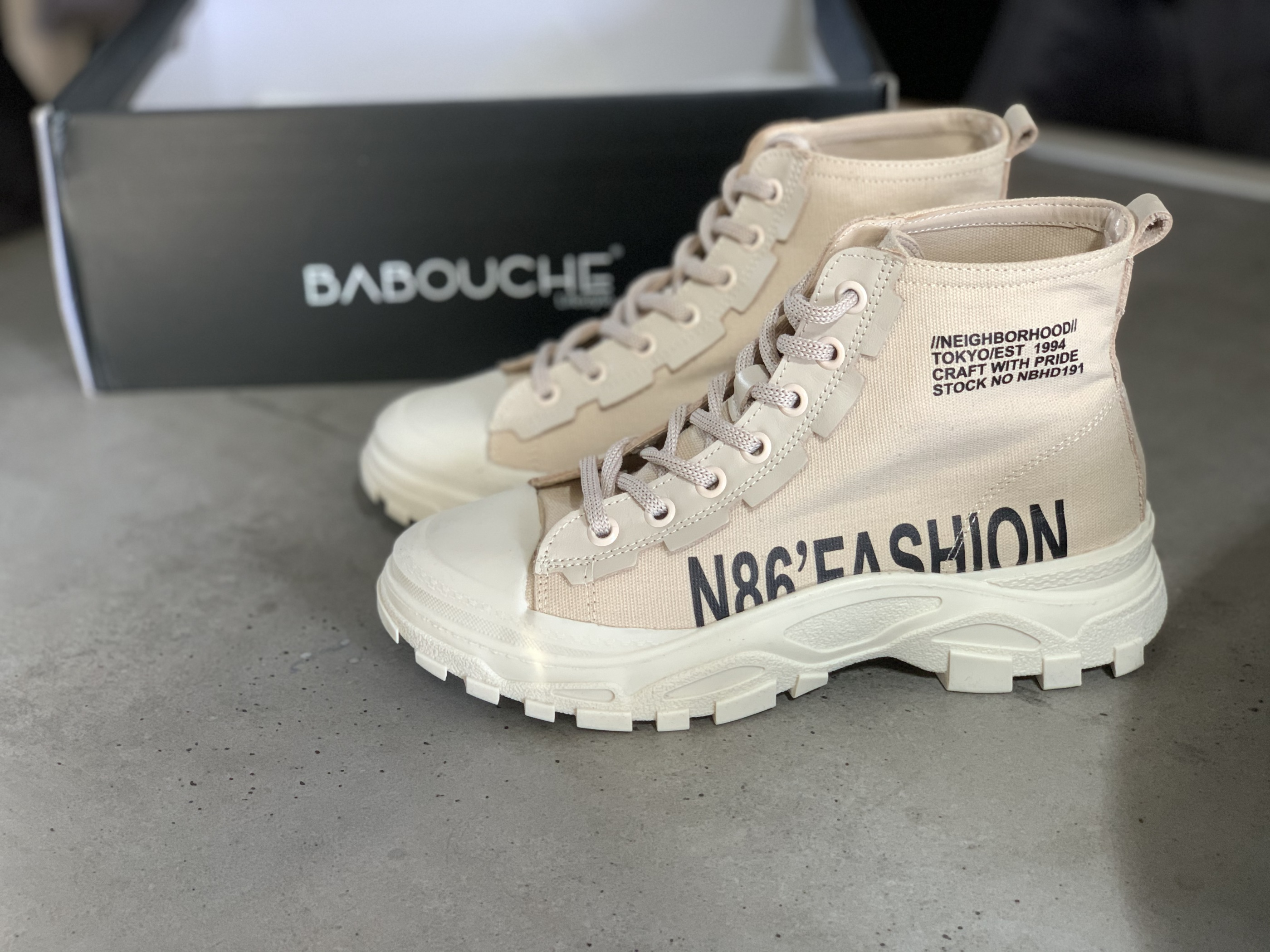 BABOUCHE Sneakers IMAGE BY ME