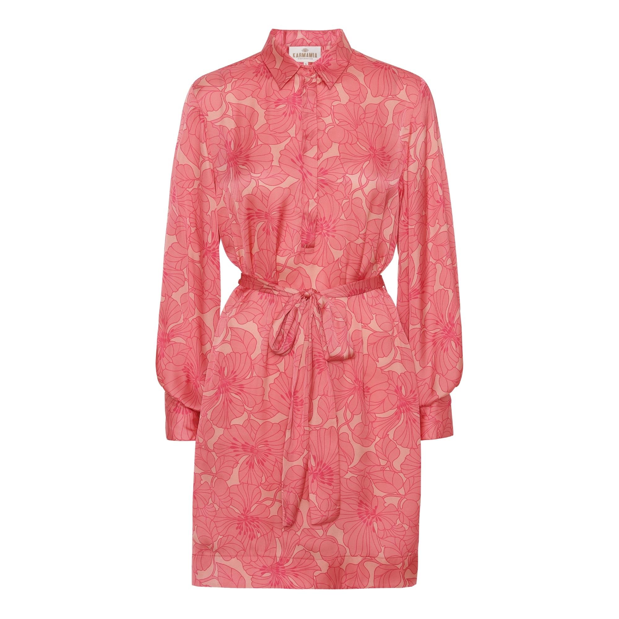 Gardenia-Pink-Millie-Dress KARMAMIA IMAGE BY ME
