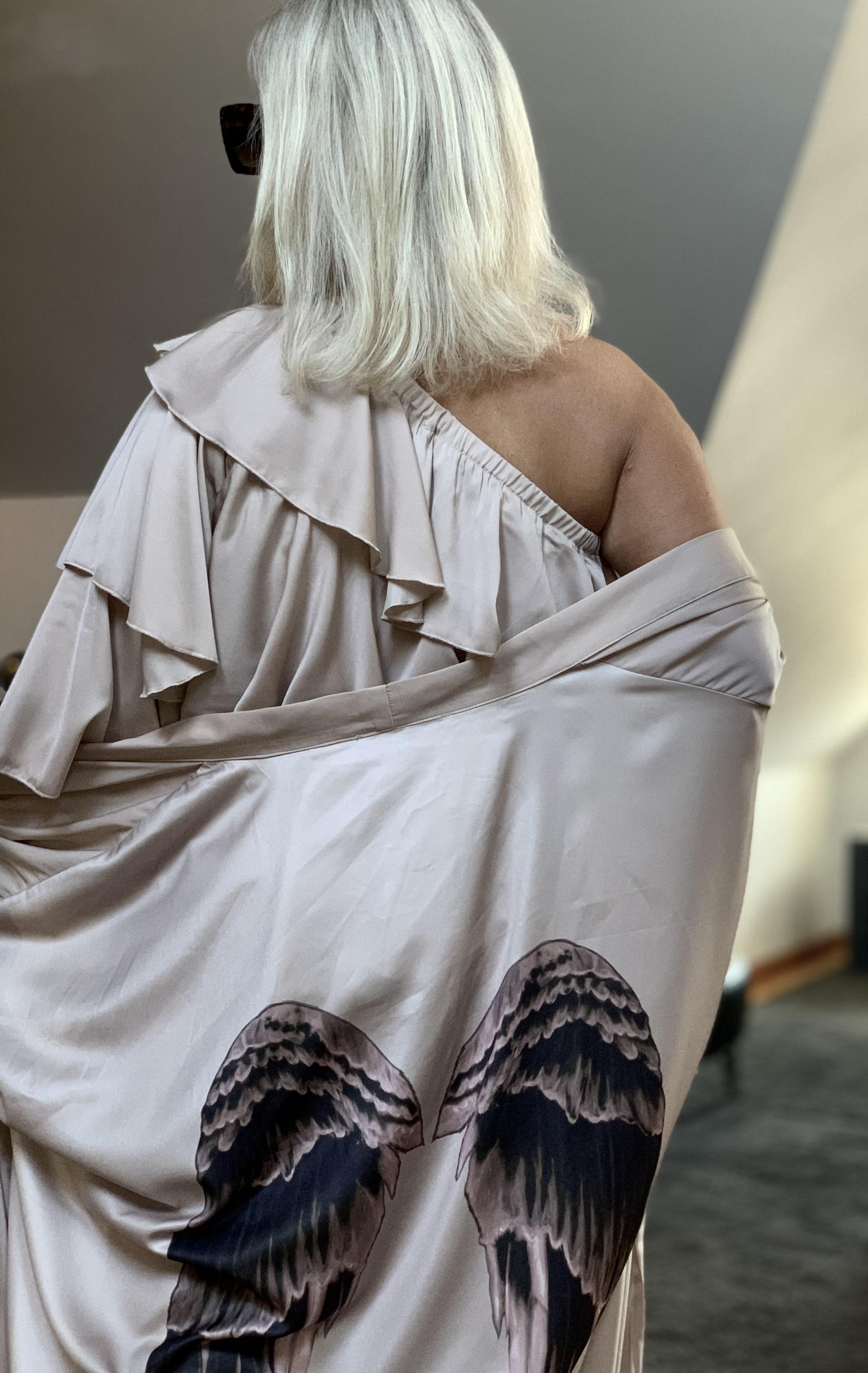 Recycle chic kimono Costa Mani IMAGE BY ME