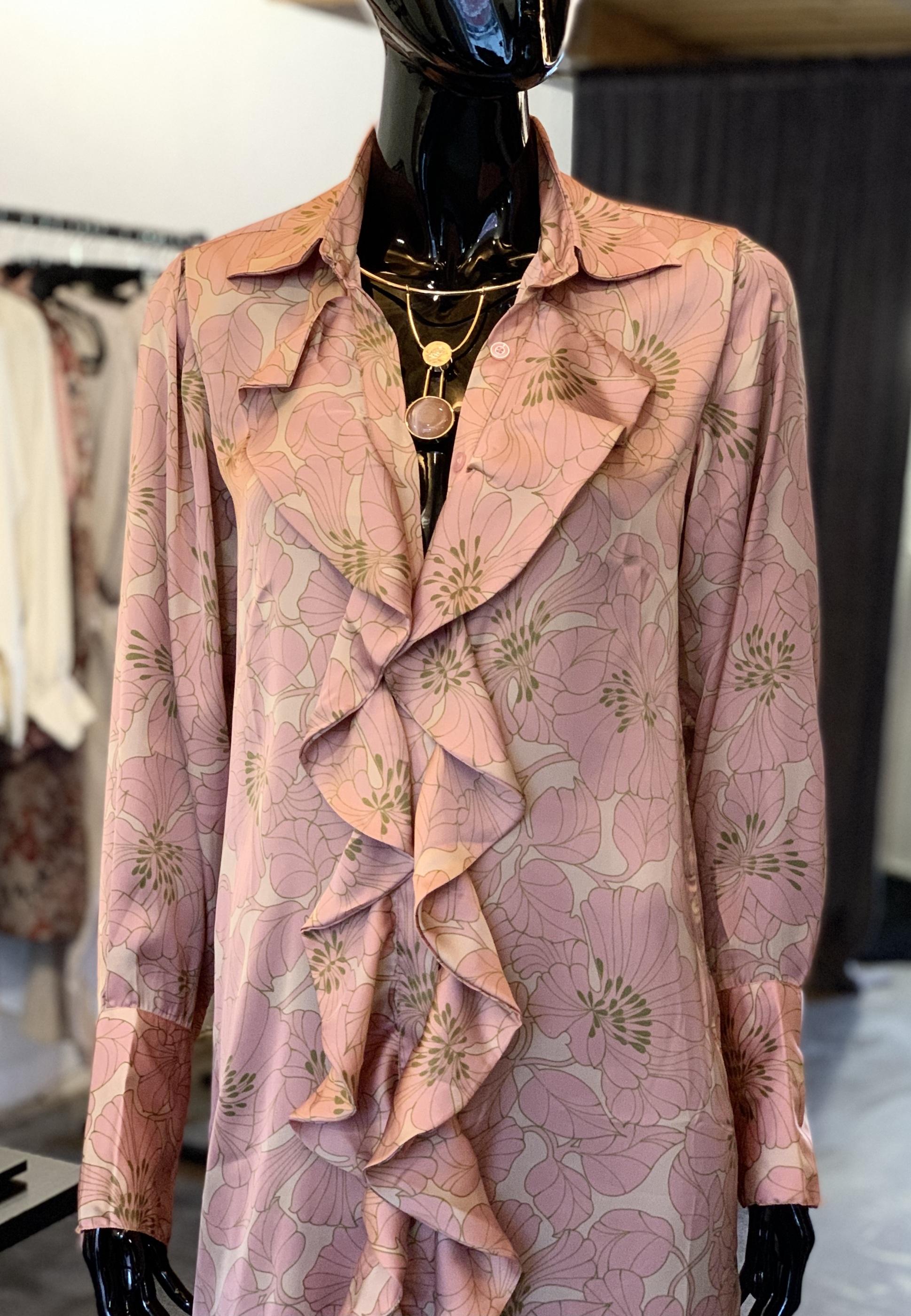 KARMAMIA Gardenia Ruffle Kimono Limited Edition IMAGE BY ME