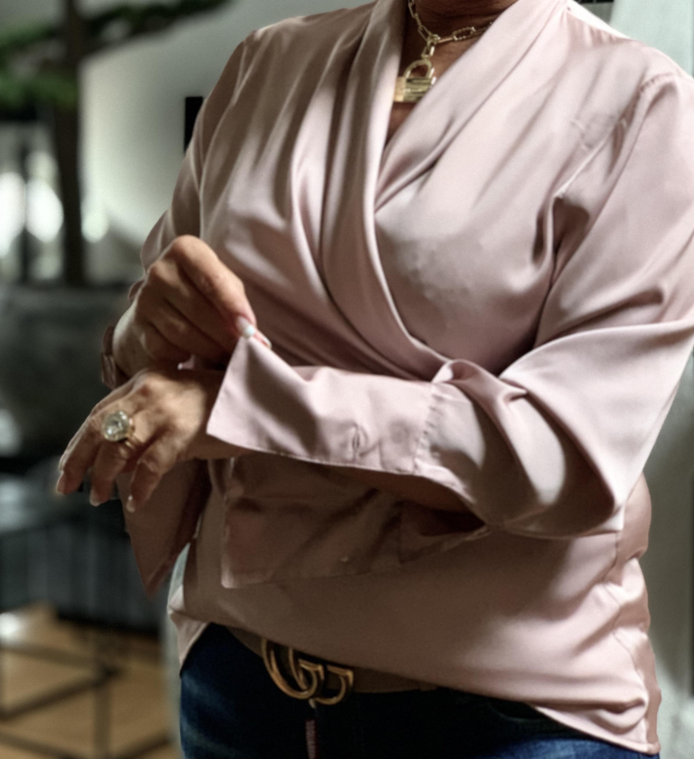 KARMAMIA Billie Shirt – Blush IMAGE BY ME