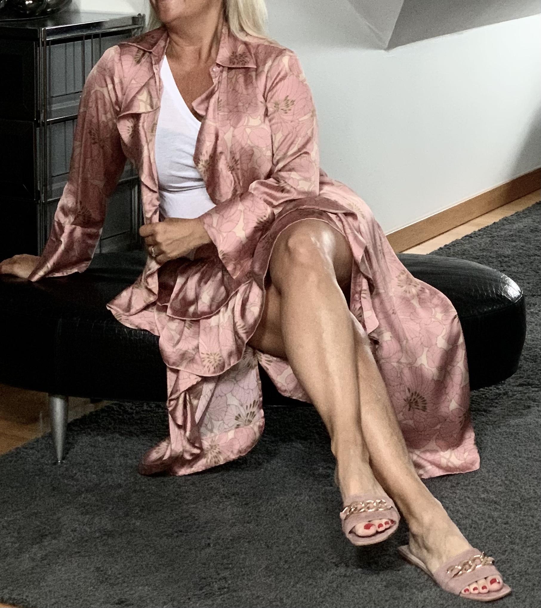 KARMAMIA Selma Skirt – Gardenia Blush IMAGE BY ME