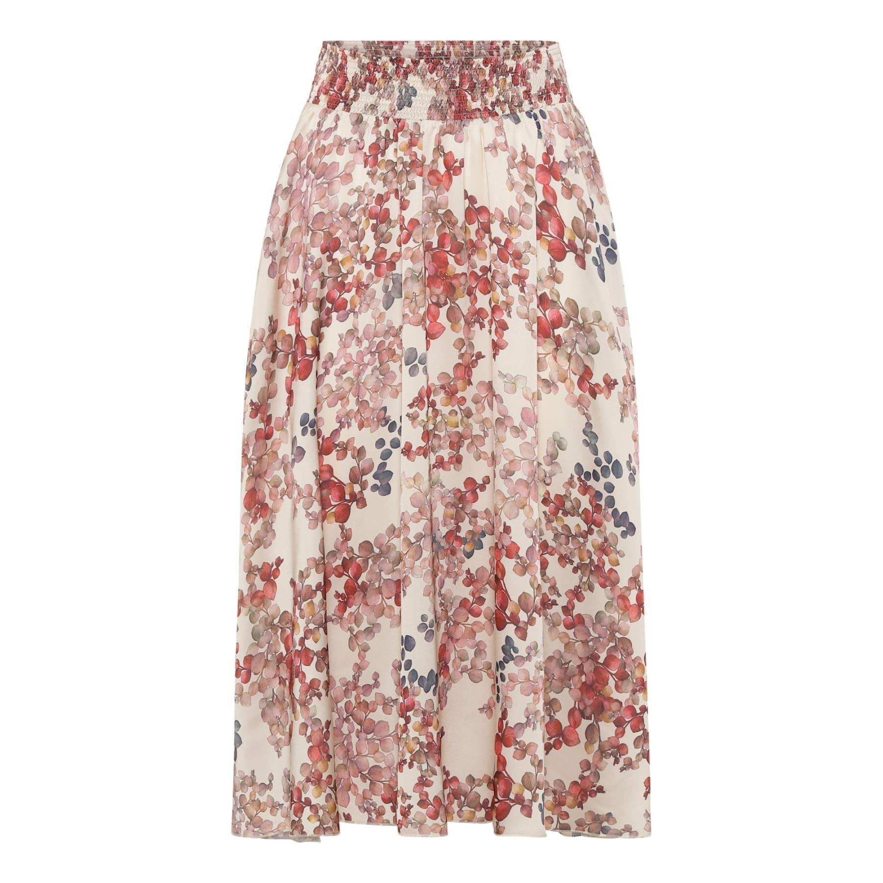 Trini Skirt - Melange Ivory IMAGE BY ME