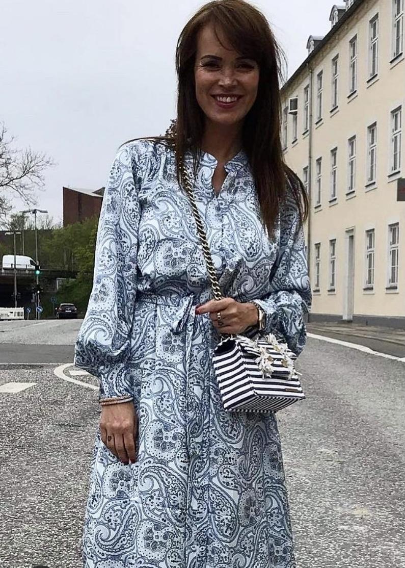 Evie Dress - Sky Silhouette IMAGE BY ME KARMAMIA CPH