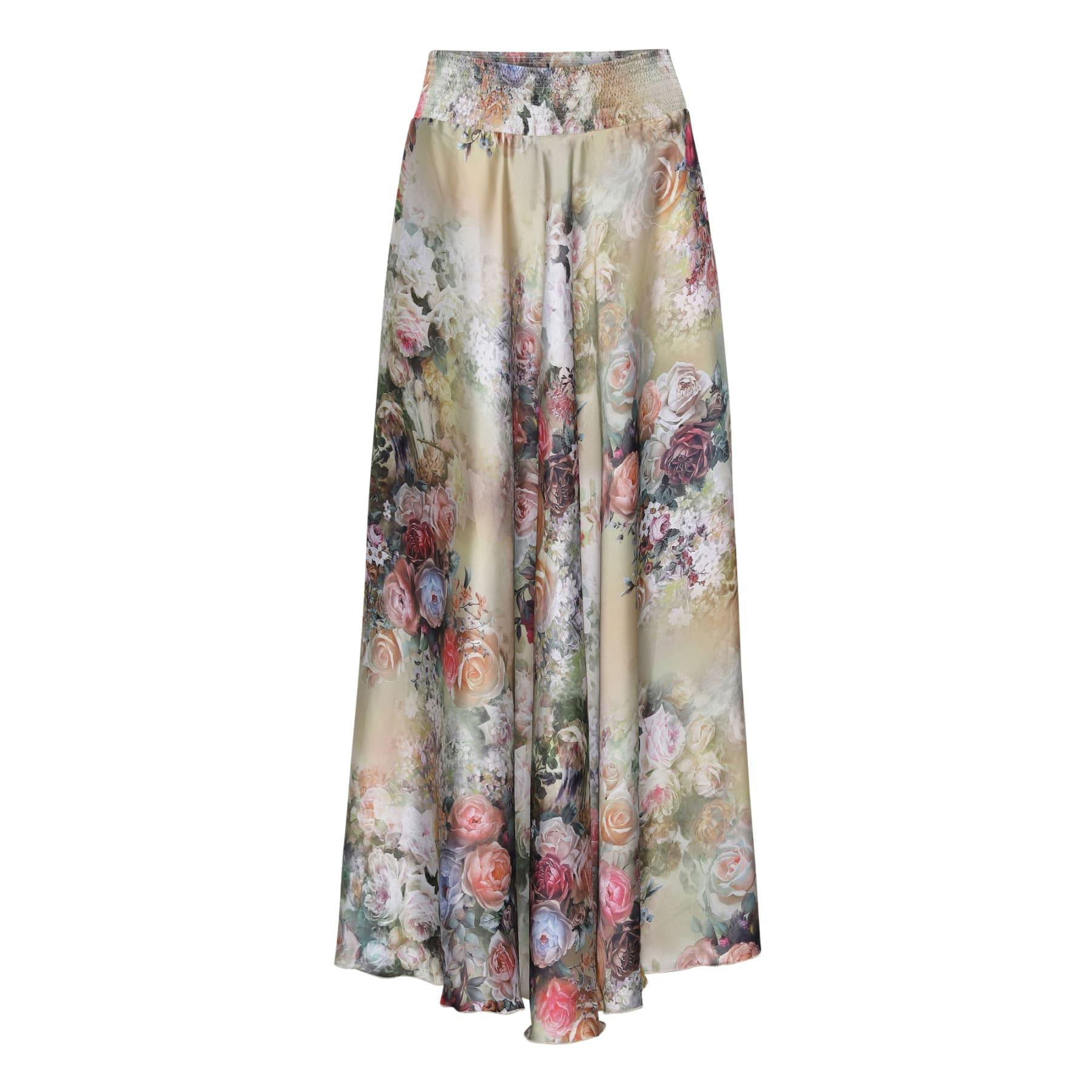 Savannah Skirt - Fleur Gold KARMAMIA IMAGE BY ME