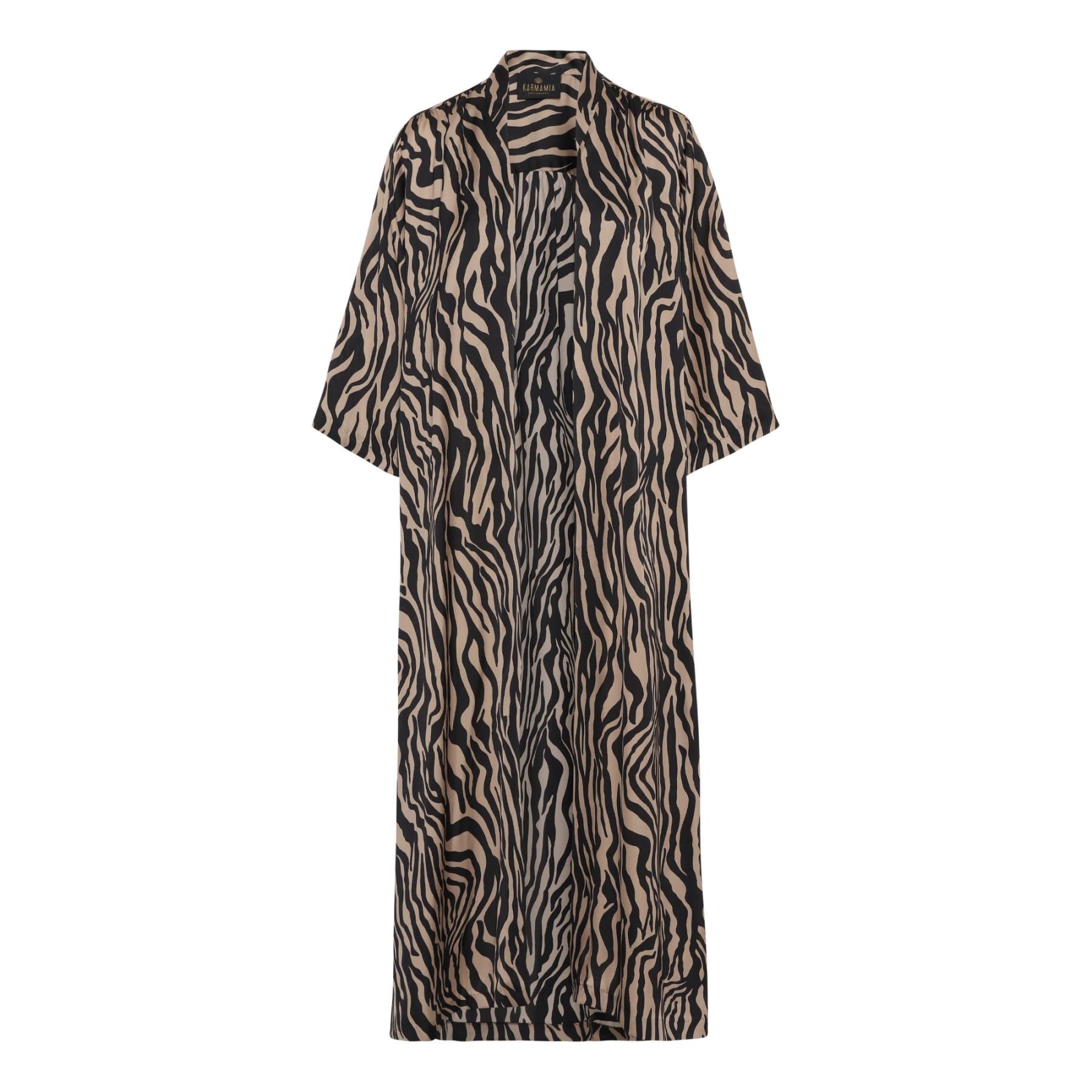 KARMAMIA Nikki Kimono (long) - Zebra IMAGE BY ME