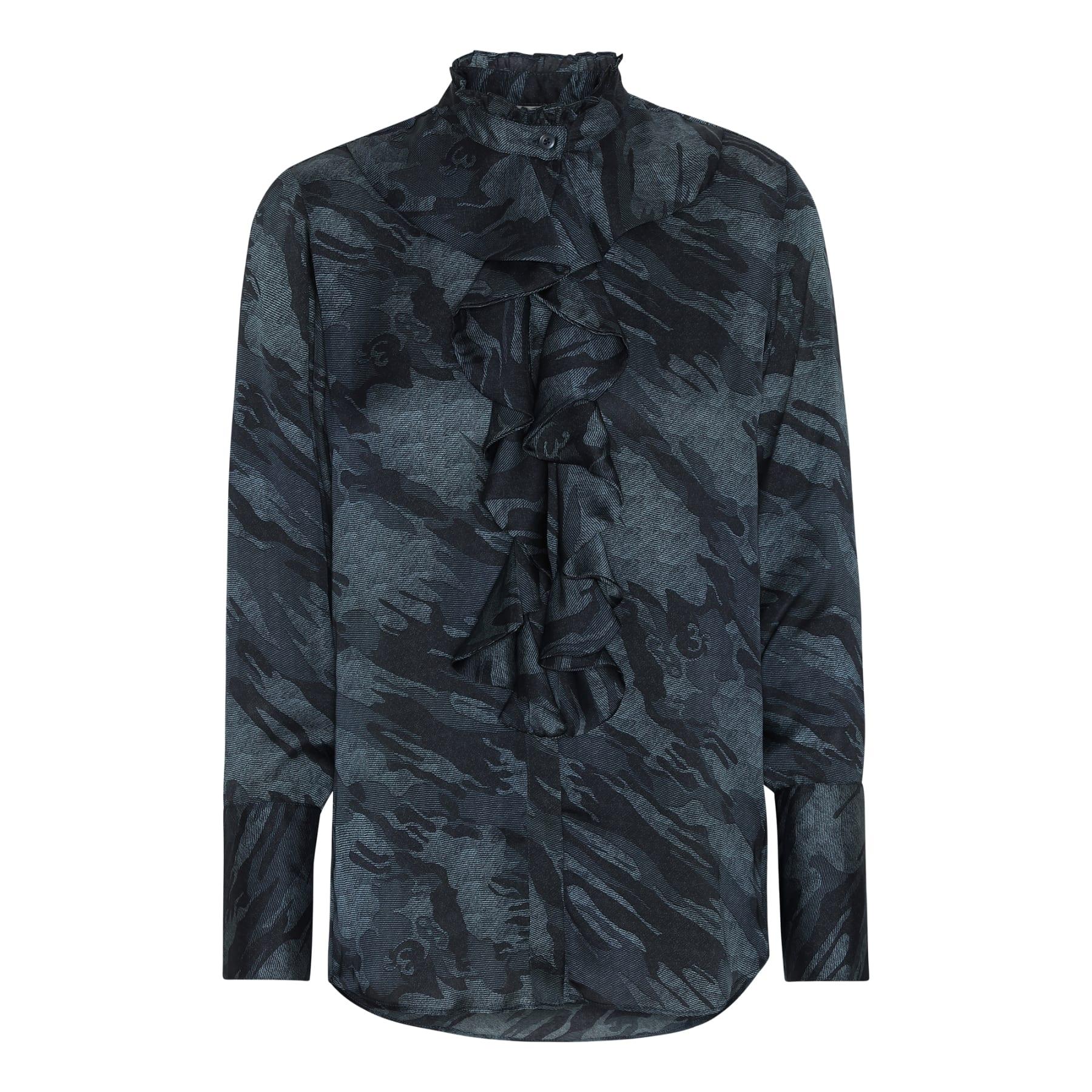 Stella Shirt - Blue Camouflage karmamia image by me
