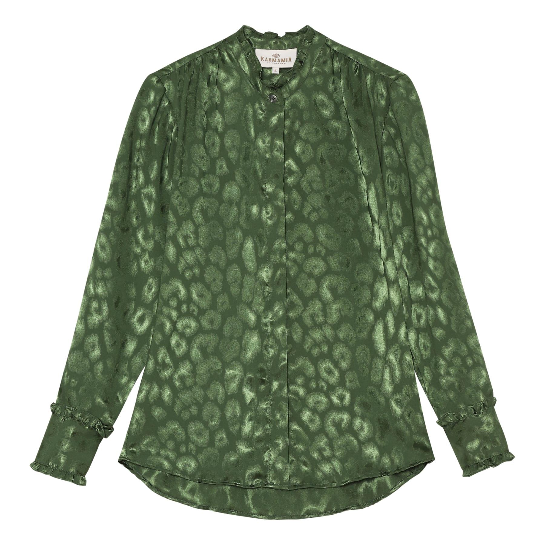 Trinity Shirt - Cactus Leo Jacquard KARMAMIA IMAGE BY ME
