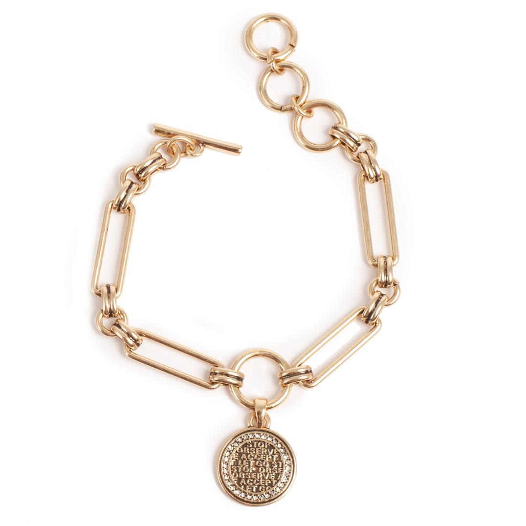 COINS OF RELIEF ARMBAND