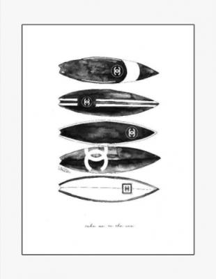 Mercedes Lopez Chanel Charro - Surf Portrait