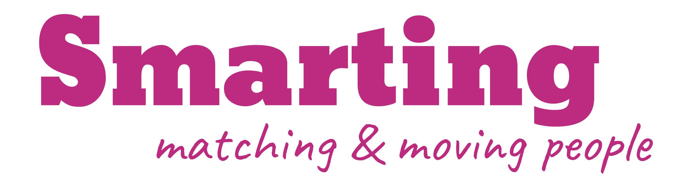 Smarting logo ny rosa_mobilhuvud
