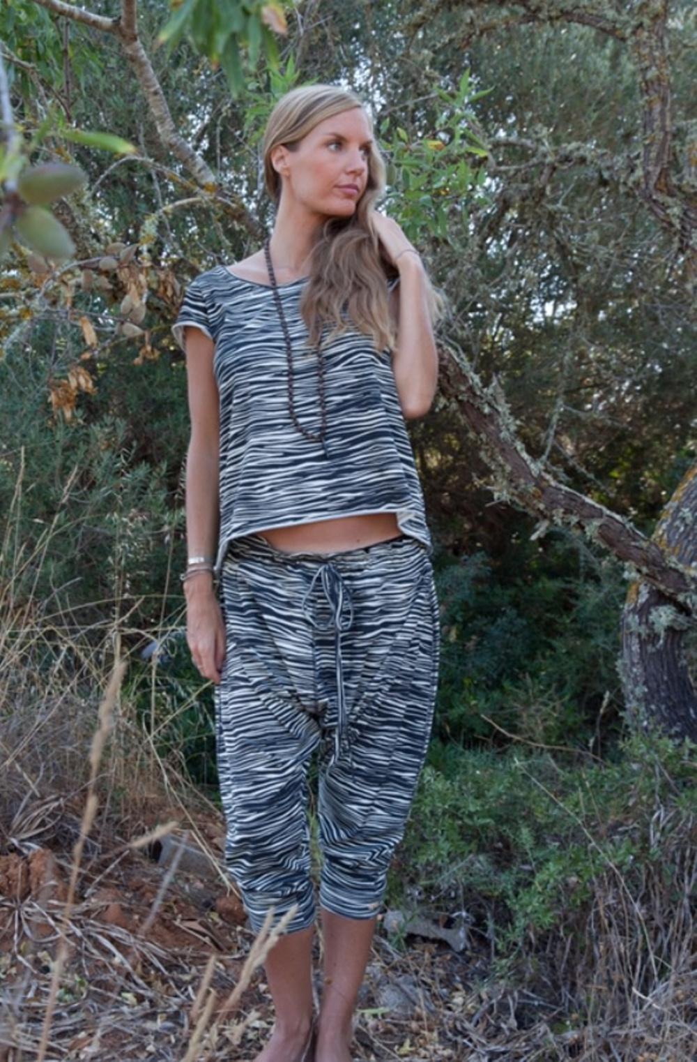 Zoe top zebra och Gabba pants zebra