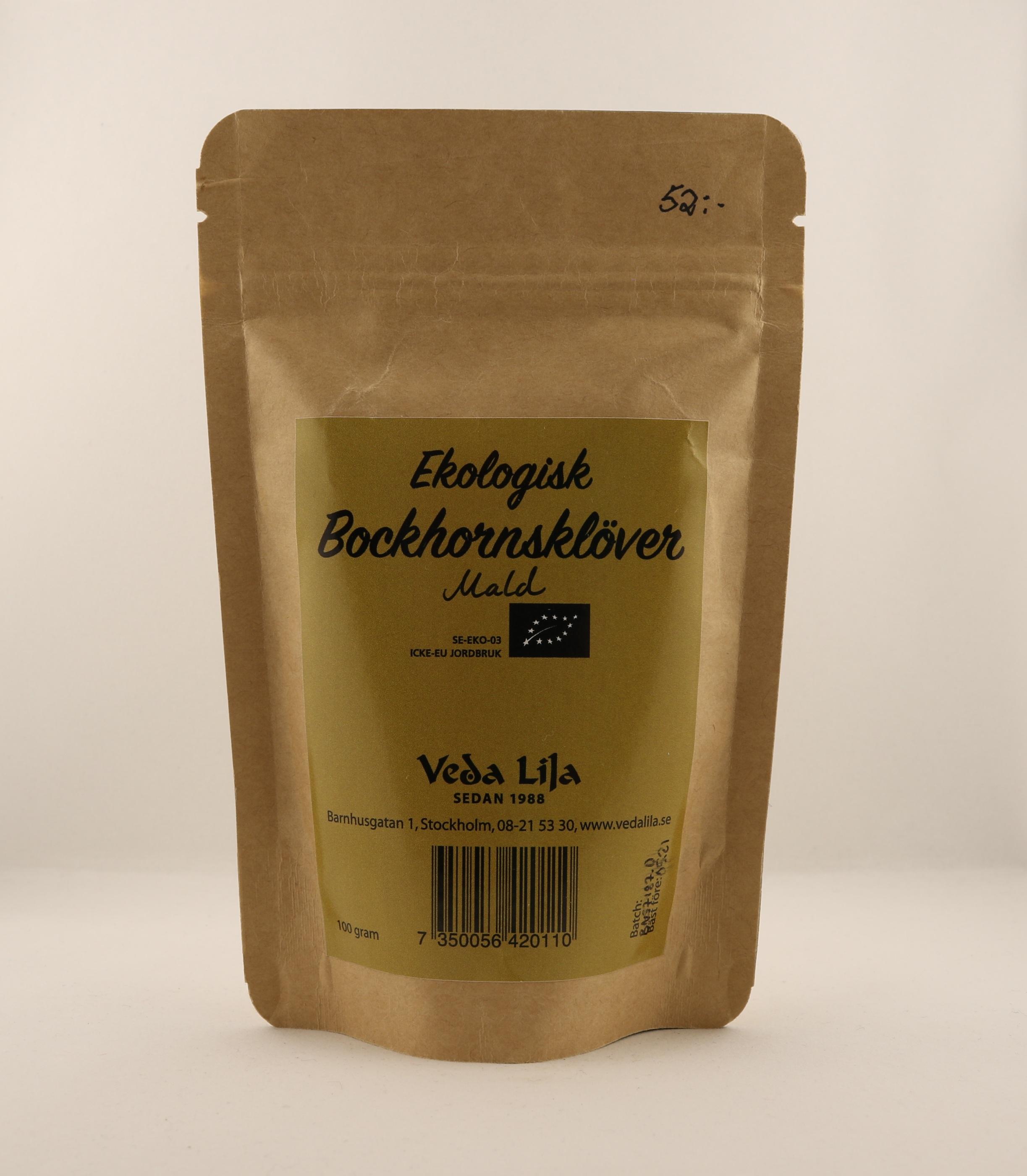 Bockhornsklöver mald holistisk alternativ örttillskott kosttillskott homeopati hälsa