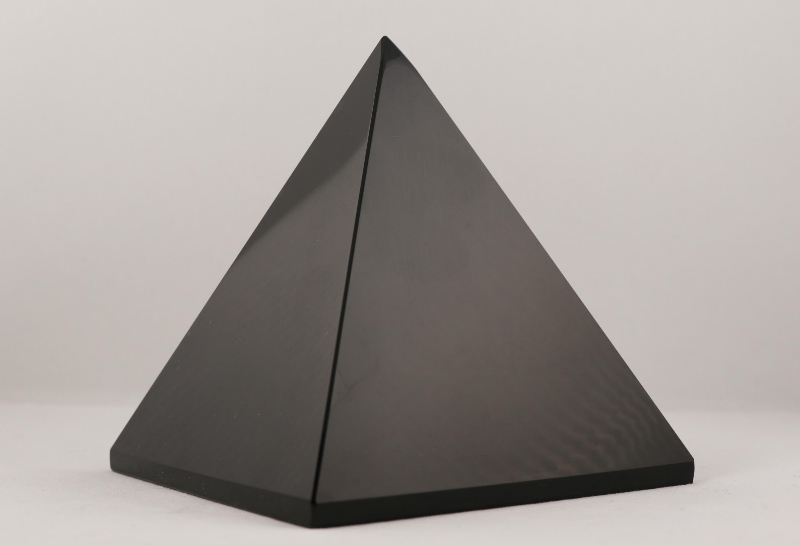 Obsidian pyramider ädelstenar kristaller slipade stenar healing stenar chakra stenar