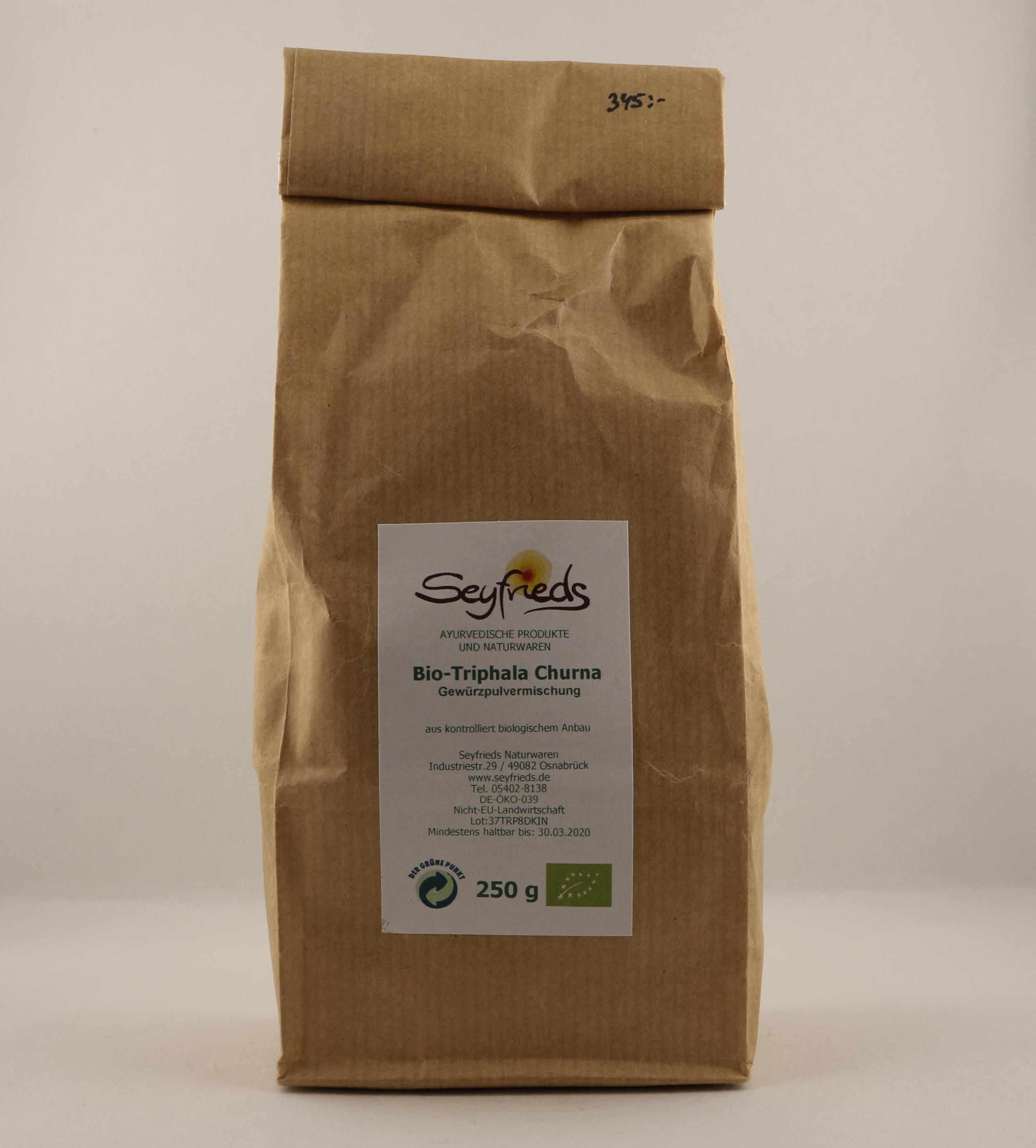 Trifala pulver holistisk alternativ örttillskott kosttillskott homeopati hälsa