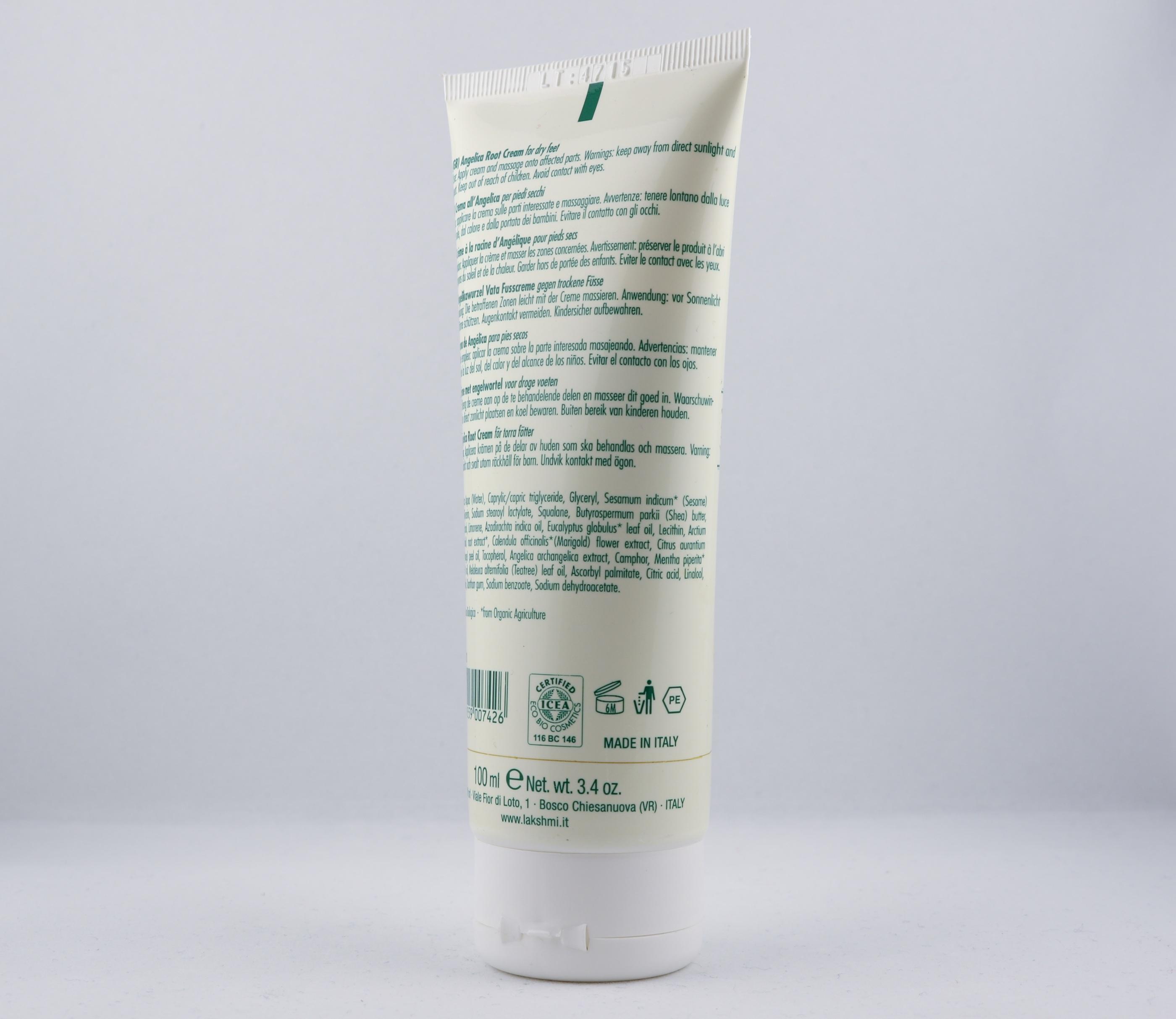 Vata Angelcia Root Cream hudvårdsprodukt hudvårdstyp alternativ hälsa wellness ayurveda Lakshmi