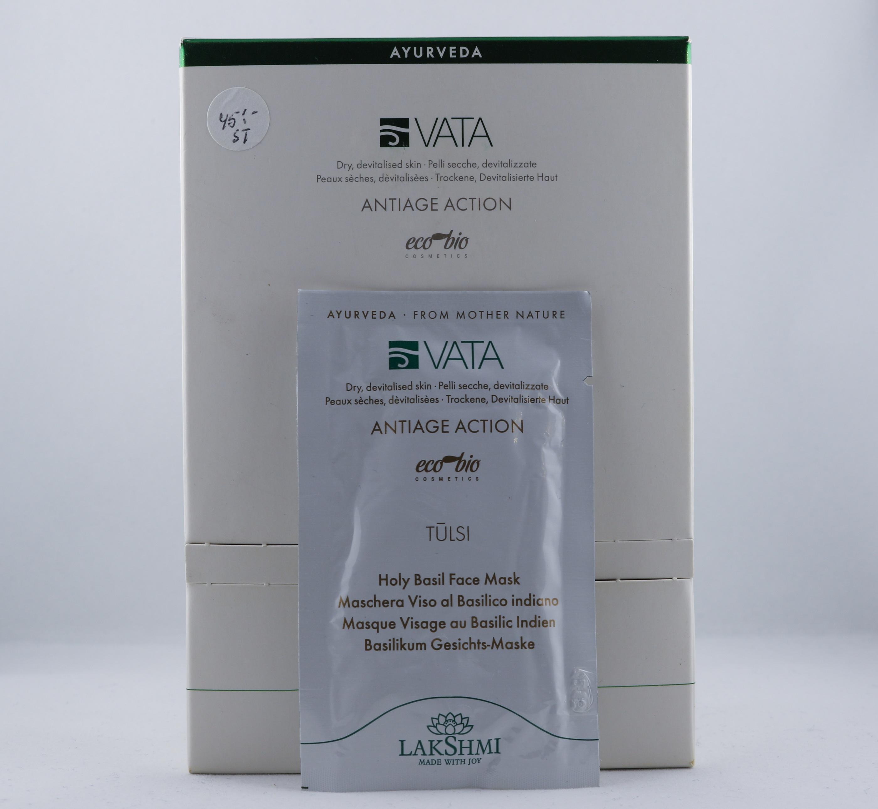 Vata Holy Basil Face Mask hudvårdsprodukt hudvårdstyp alternativ hälsa wellness ayurveda ansikte