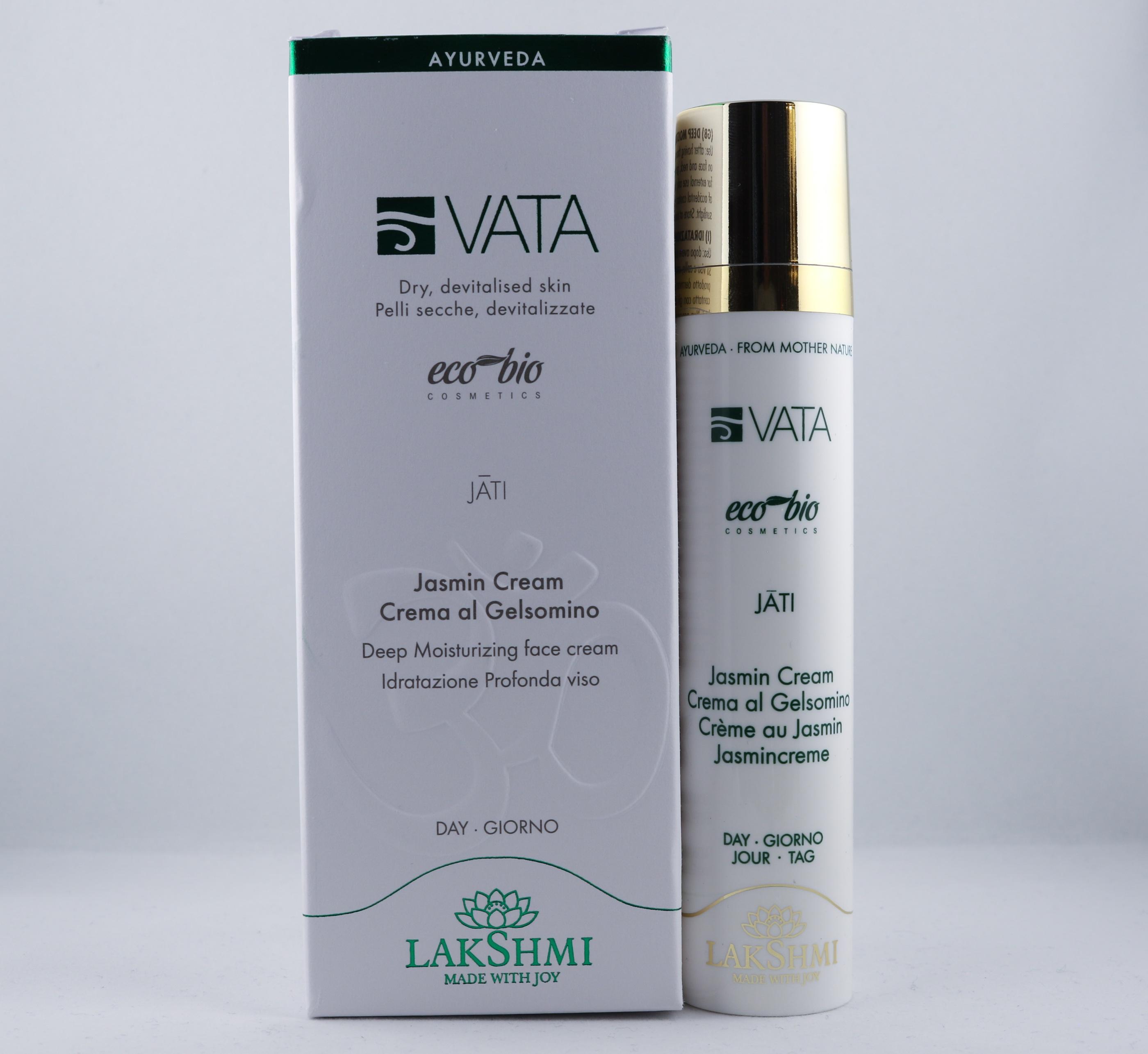 Vata Jasmine Cream hudvårdsprodukt hudvårdstyp alternativ hälsa wellness ayurveda ansikte