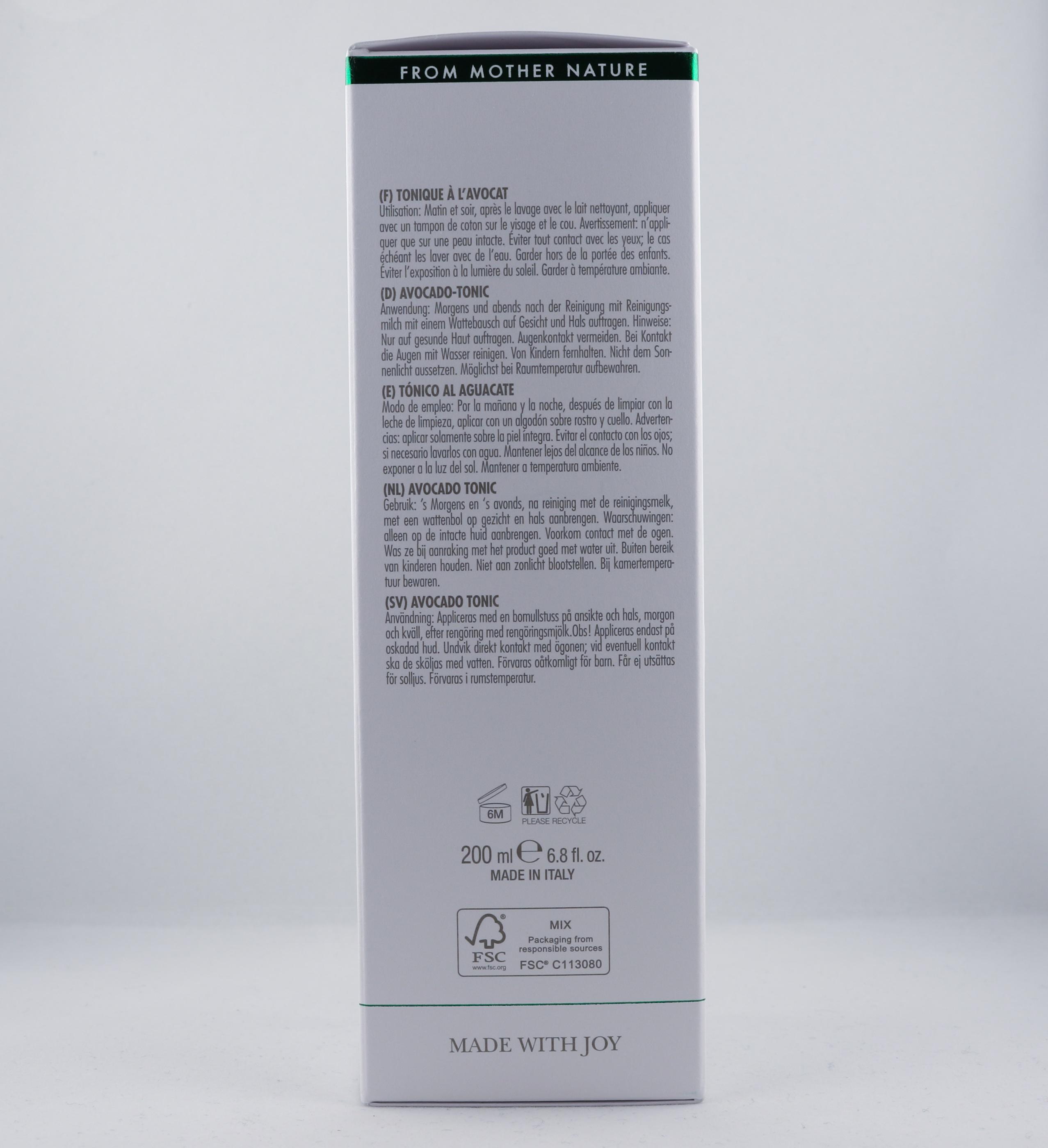 Vata Avocado Face Tonic hudvårdsprodukt hudvårdstyp alternativ hälsa wellness ayurveda hudvård