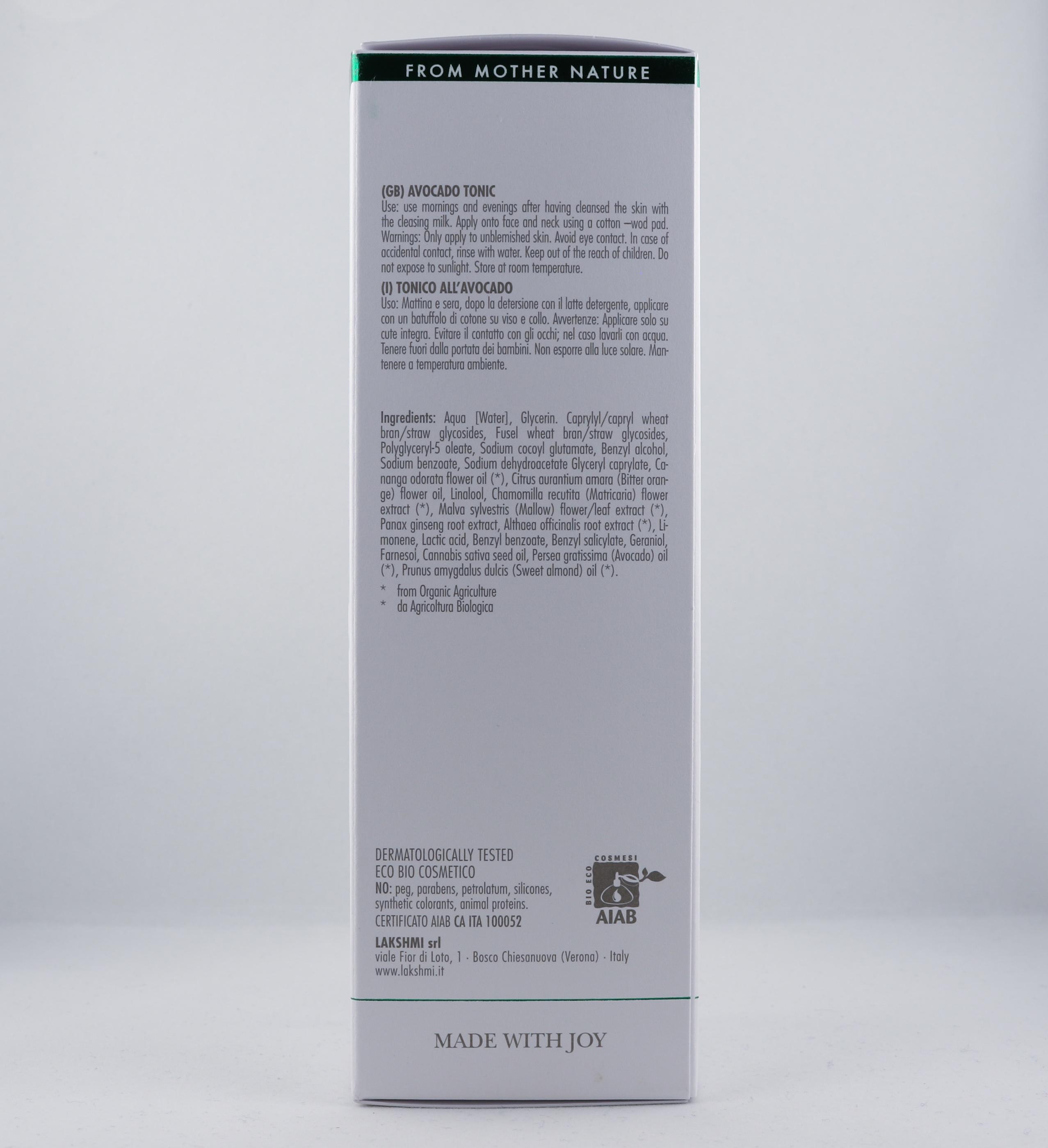 Vata Avocado Face Tonic hudvårdsprodukt hudvårdstyp alternativ hälsa wellness ayurveda hudvårdsprodukter
