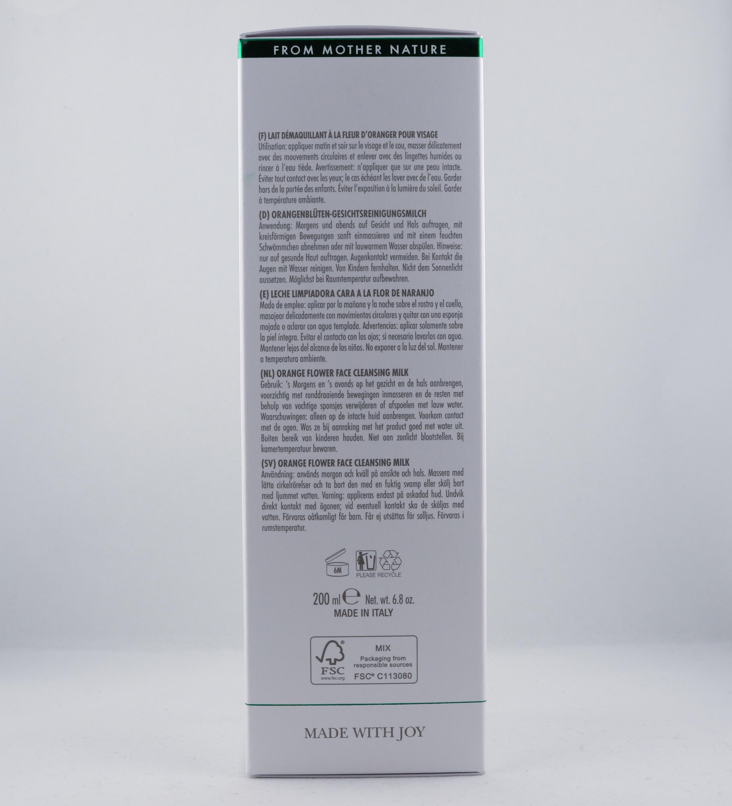 Vata Orange Flower Face Cleansing Milk hudvårdsprodukt hudvårdstyp alternativ hälsa wellness ayurveda hudvård