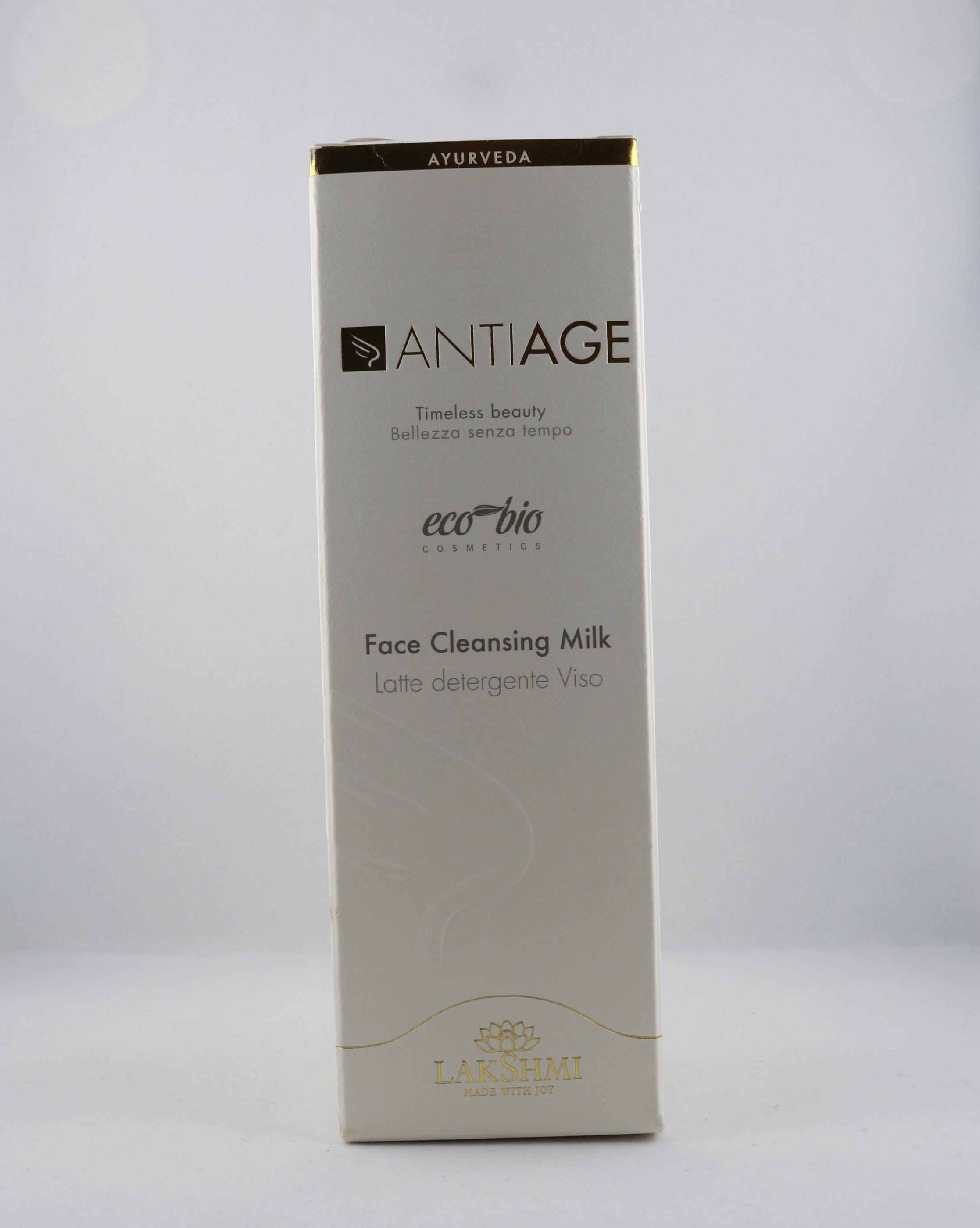 Anti-Age Face Cleansing Milk hudvårdsprodukt hudvårdstyp alternativ hälsa wellness ayurveda för män