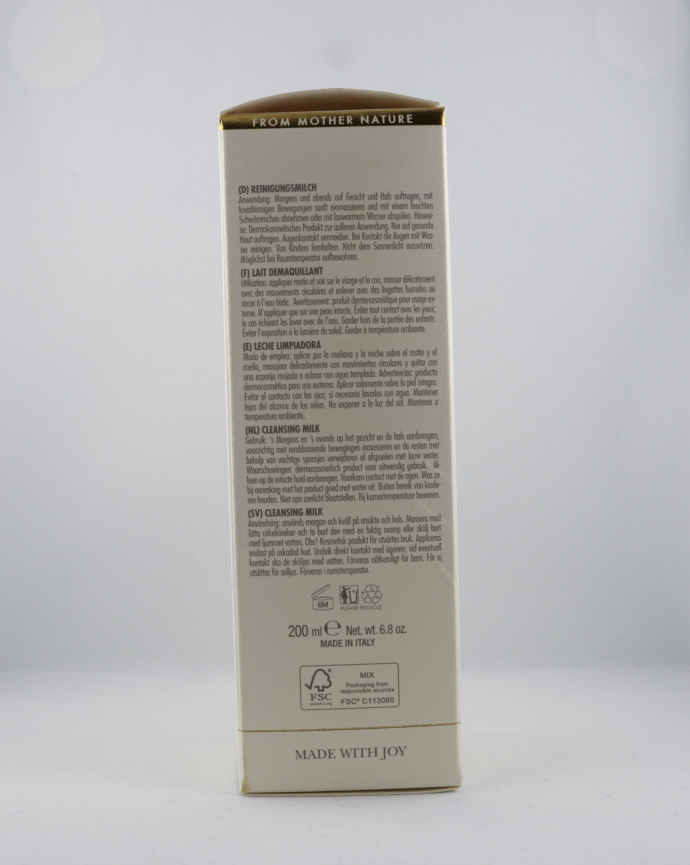 Anti-Age Face Cleansing Milk hudvårdsprodukt hudvårdstyp alternativ hälsa wellness ayurveda hudvård