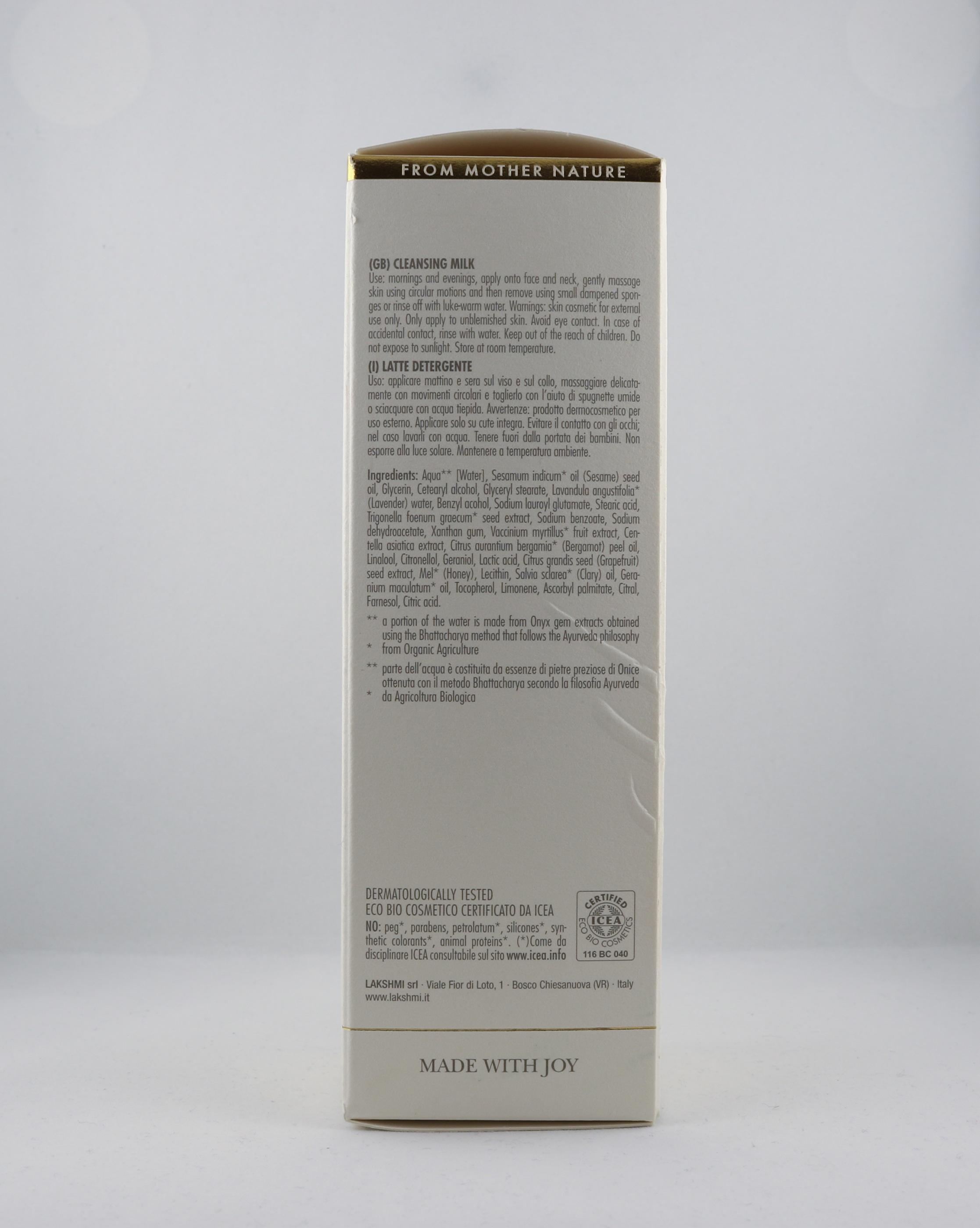 Anti-Age Face Cleansing Milk hudvårdsprodukt hudvårdstyp alternativ hälsa wellness ayurveda hudvårdsprodukter