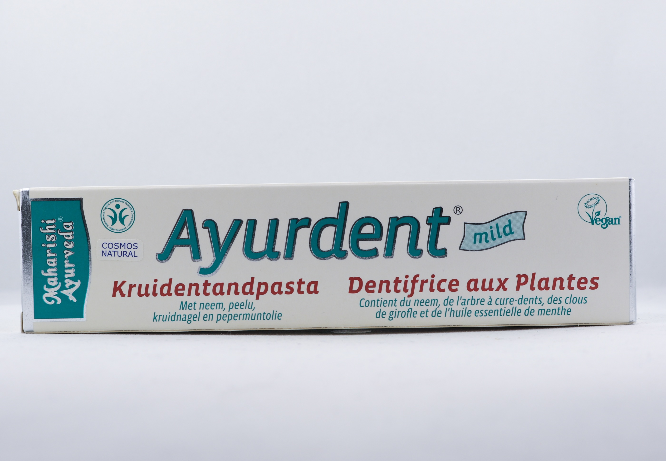 Ayurdent Örttandkräm - Mild wellness ayurveda halmstad sweden svensk hygien