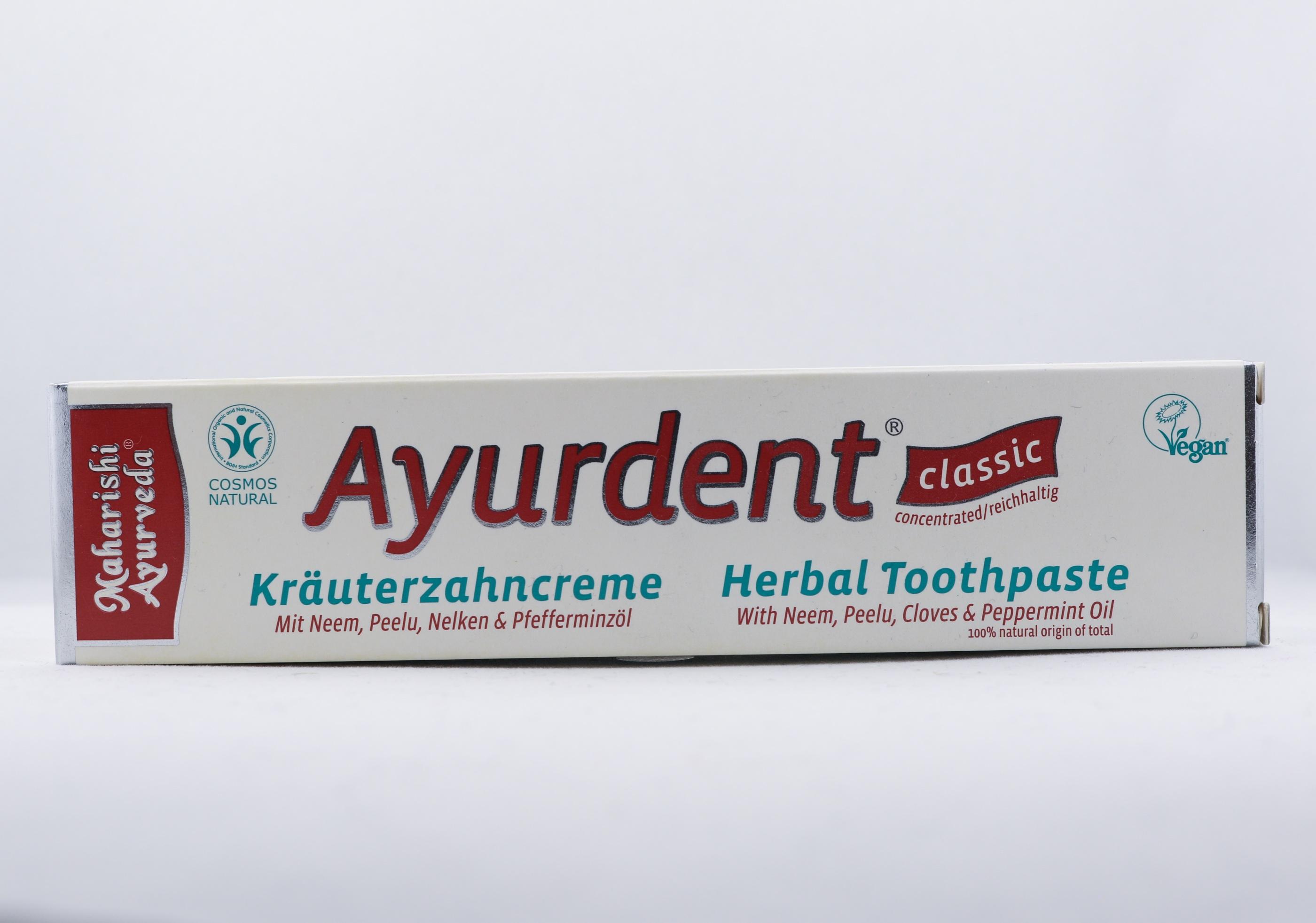 Ayurdent Örttandkräm - Klassisk wellness ayurveda halmstad sweden svensk hygien