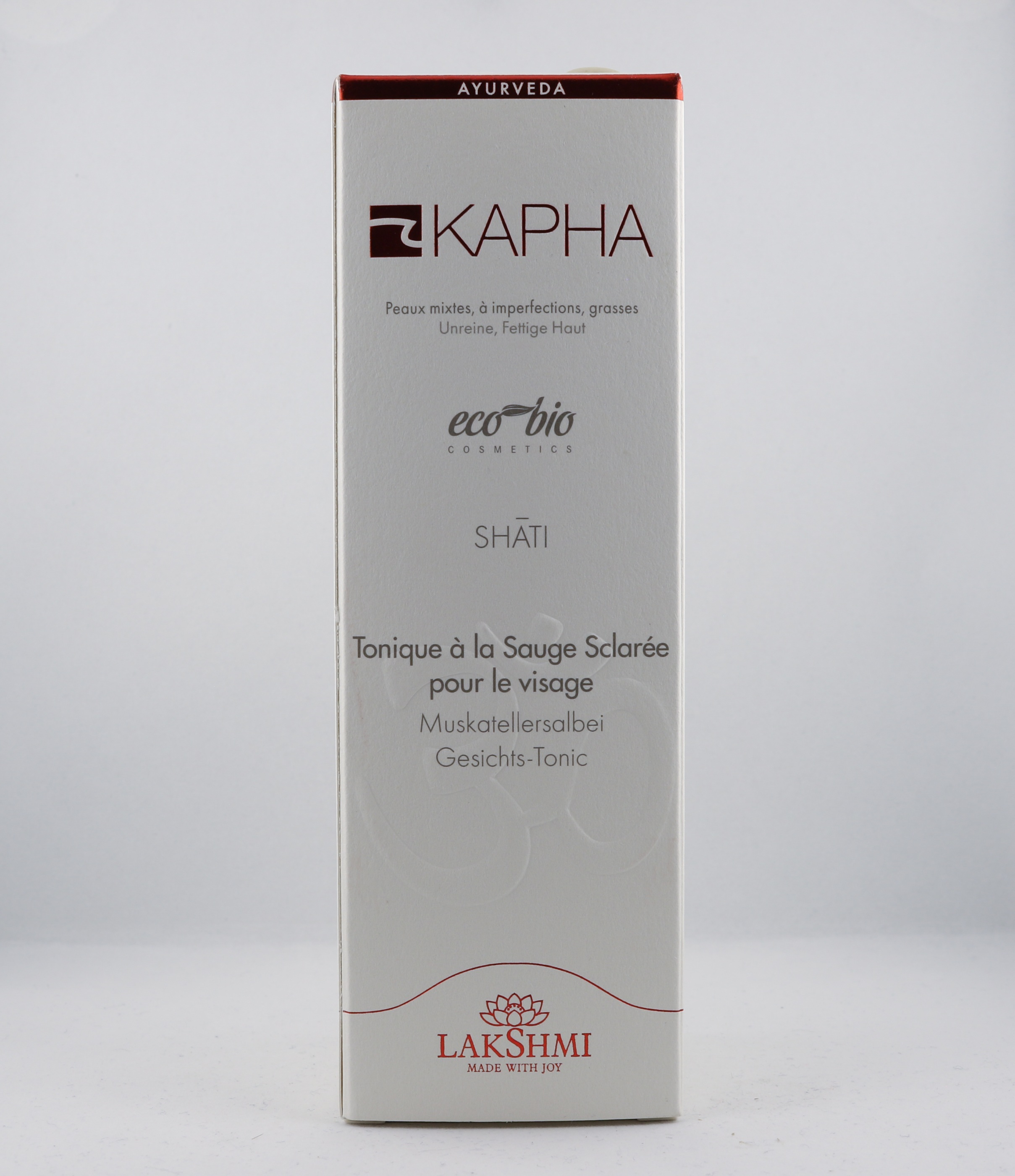 Kapha Clary Sage Face Tonic wellness ayurveda halmstad sweden svensk hudvård