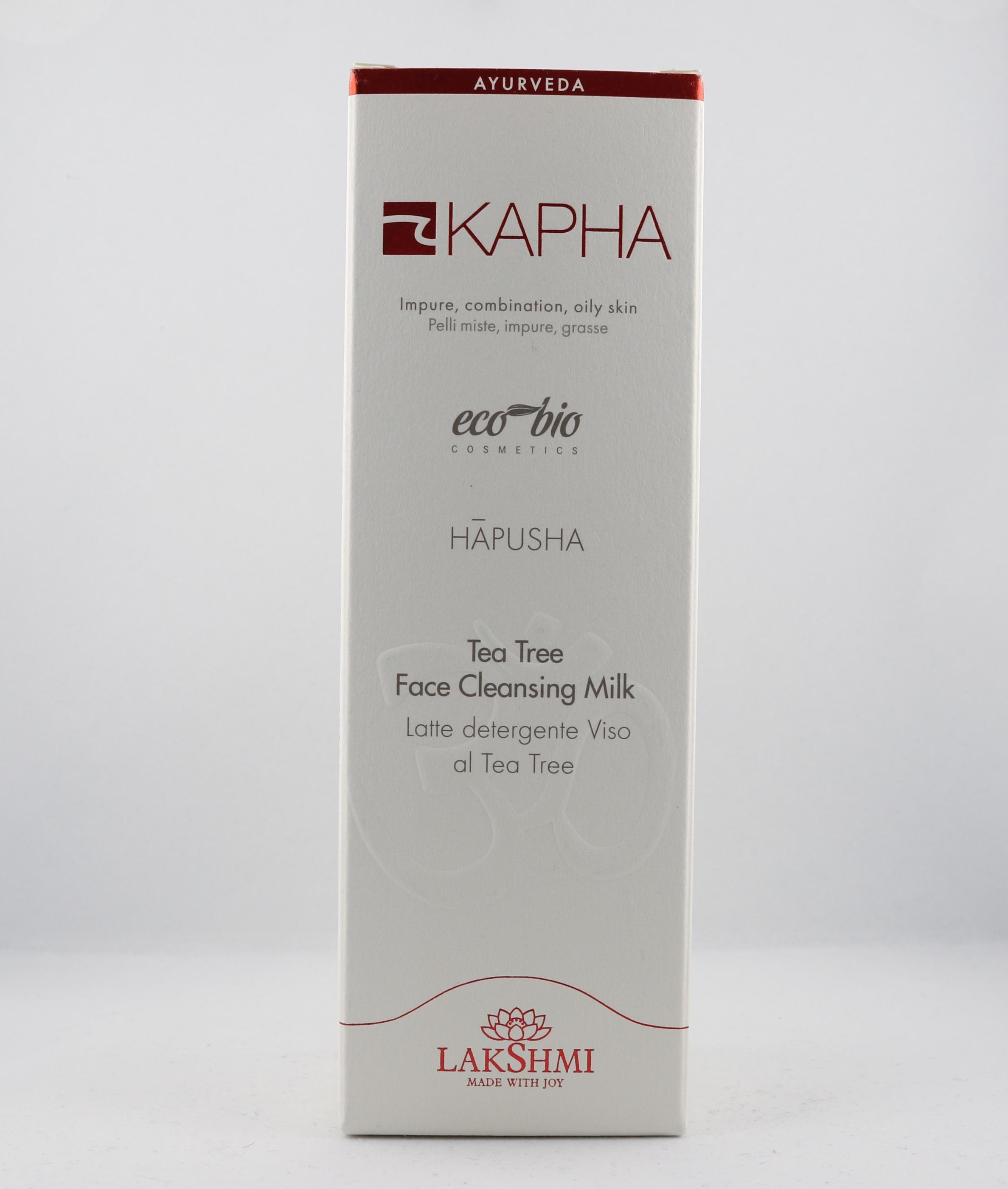 Kapha Tea Tree Face Cleansing Milk wellness ayurveda halmstad sweden svensk hudvård