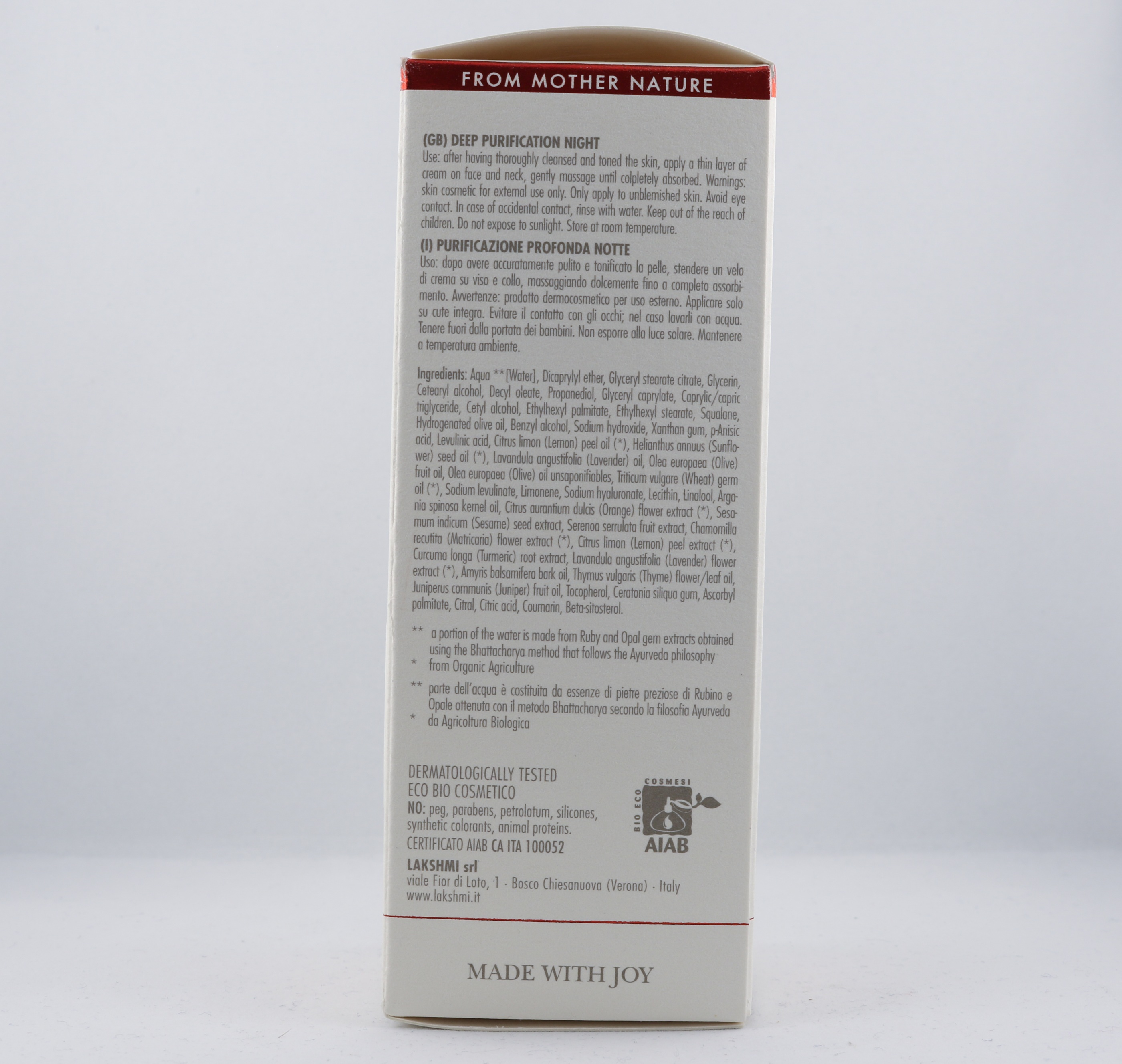 Kapha Tumeric Cream wellness ayurveda halmstad sweden svensk hudvård