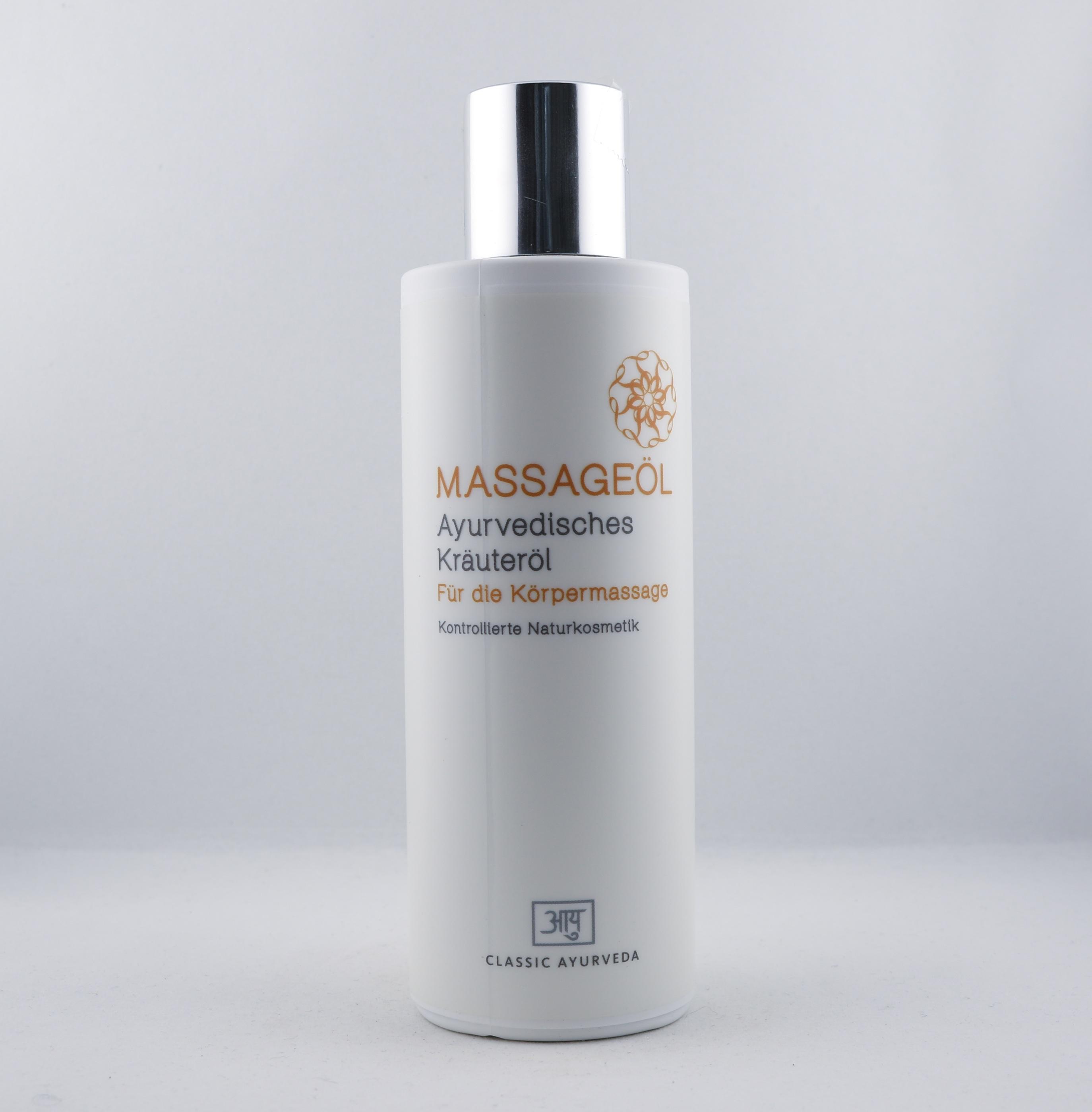 Massage olja wellness ayurveda halmstad sweden svensk hudvård