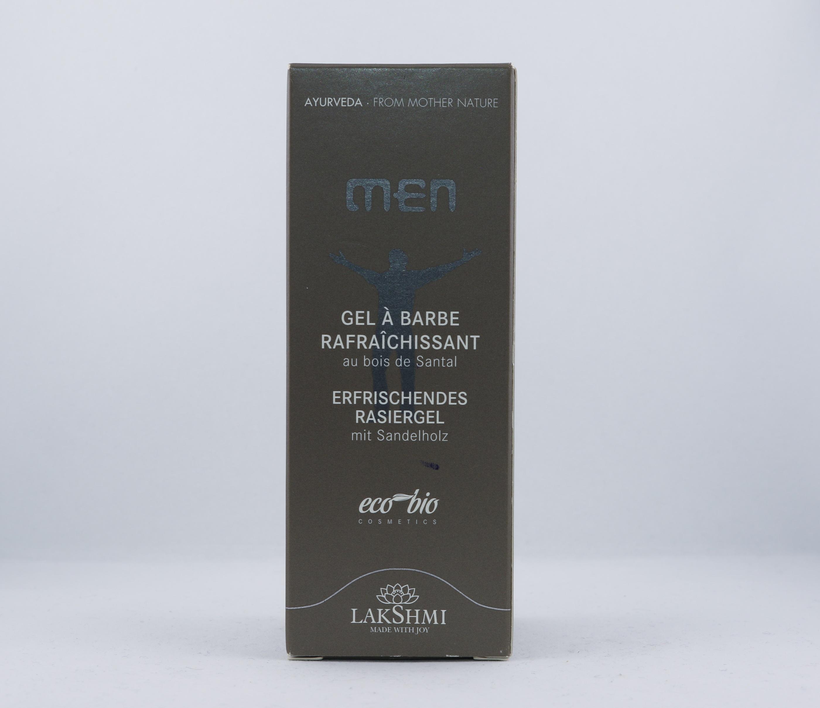 Men Fresh Shaving Gel wellness ayurveda halmstad sweden svensk hudvård