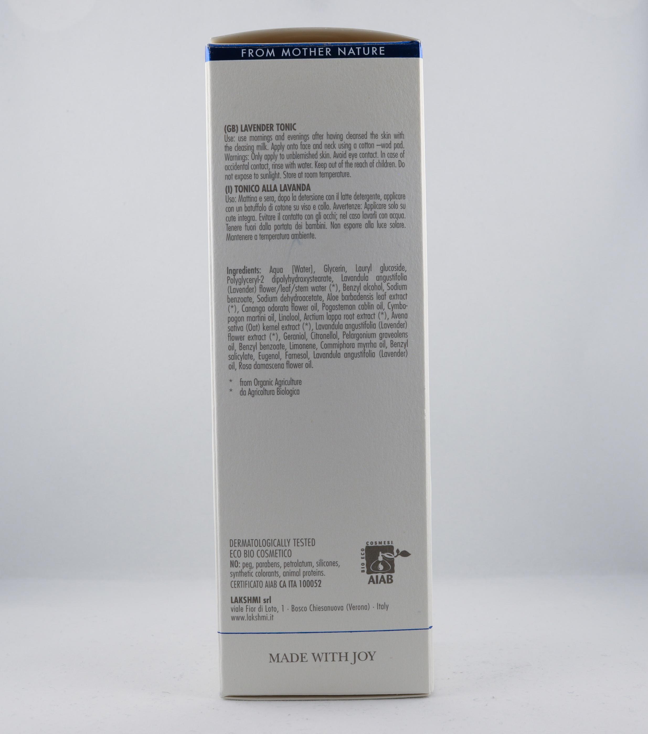 Pitta Lavendel Tonic wellness ayurveda halmstad sweden svensk hudvård