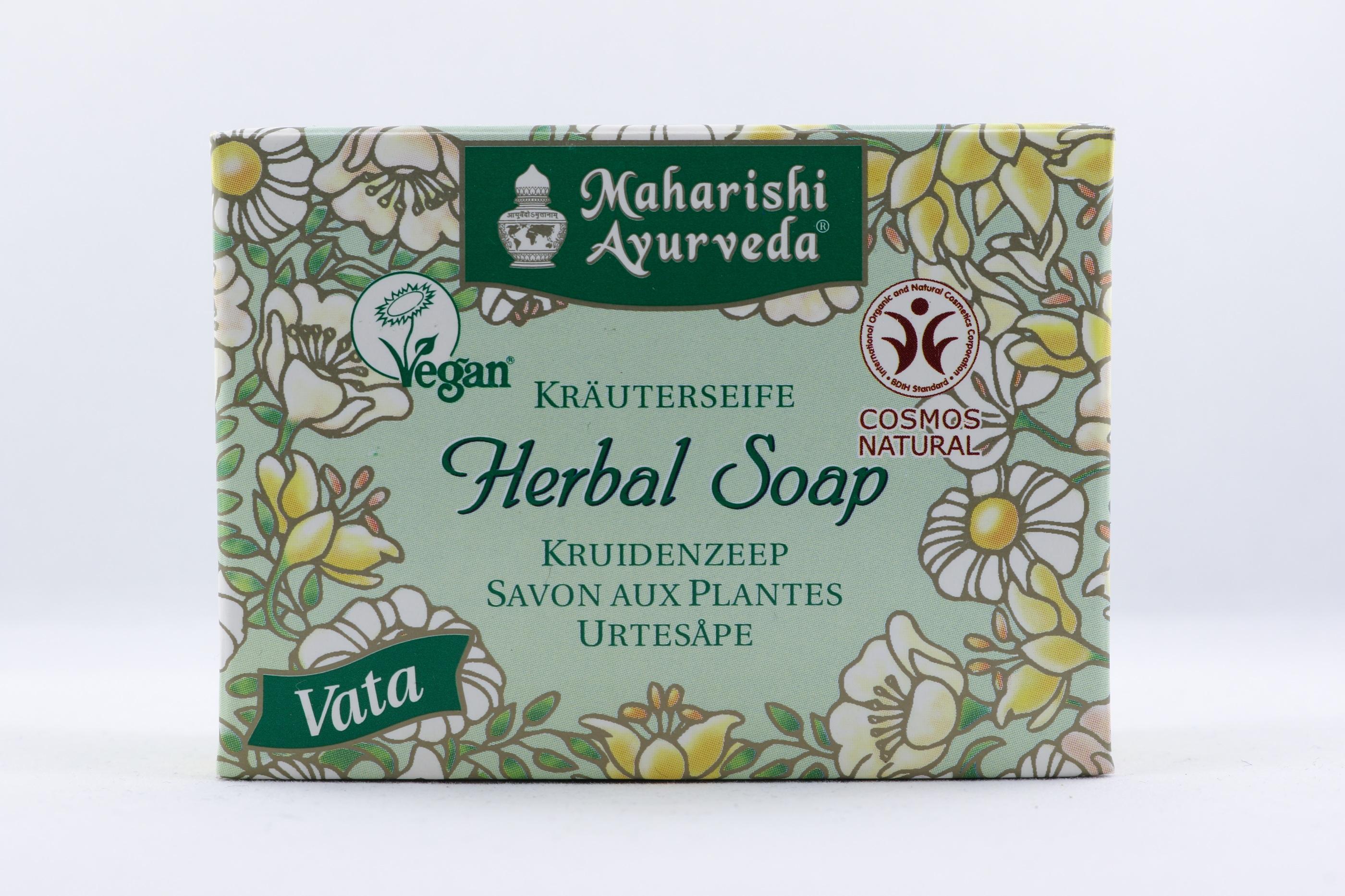 Vata Örttvål - Citrongräs wellness ayurveda halmstad sweden svensk hygien
