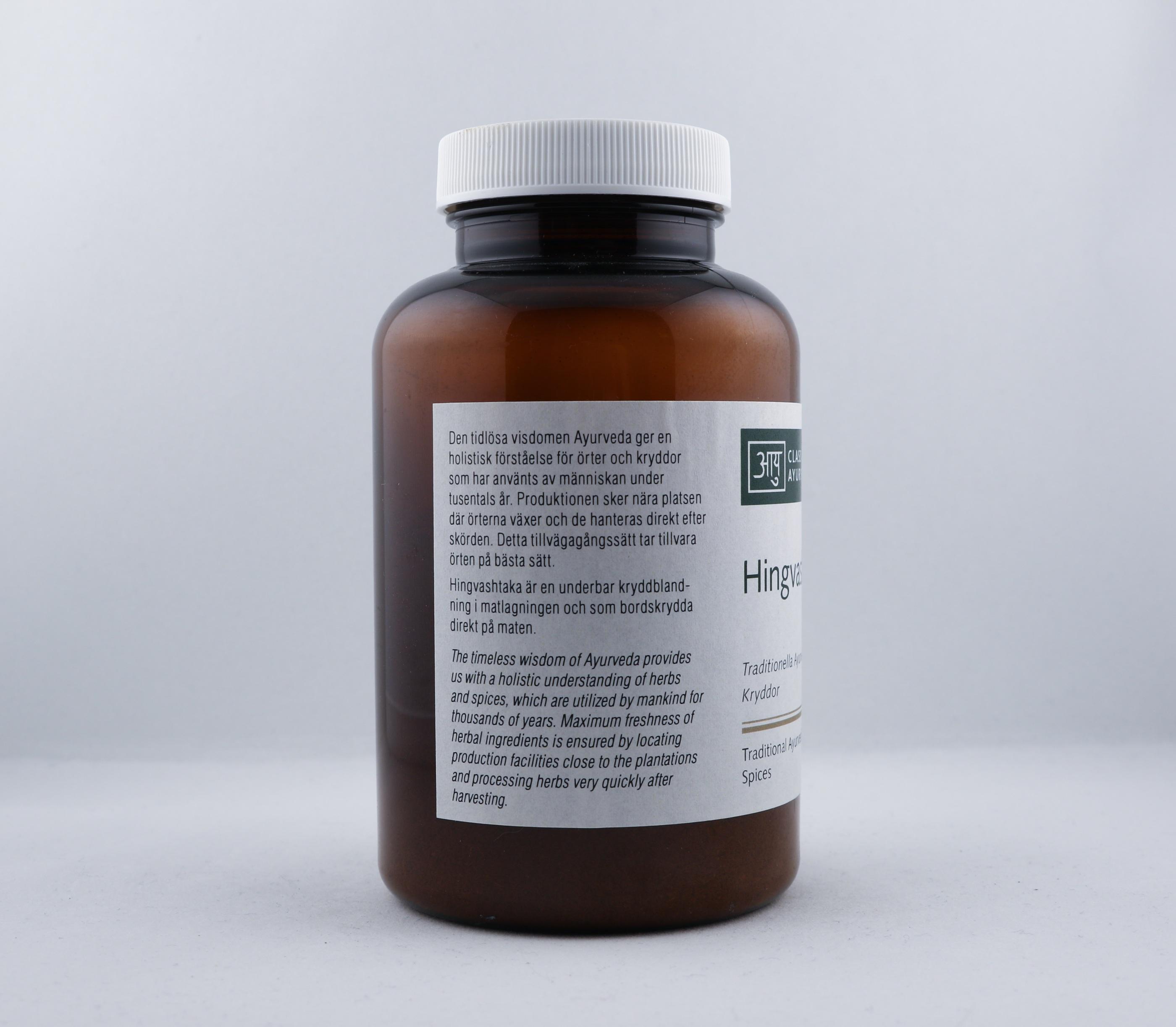 Hing Hingvashtaka kryddmix wellness ayurveda halmstad sweden svensk krydda
