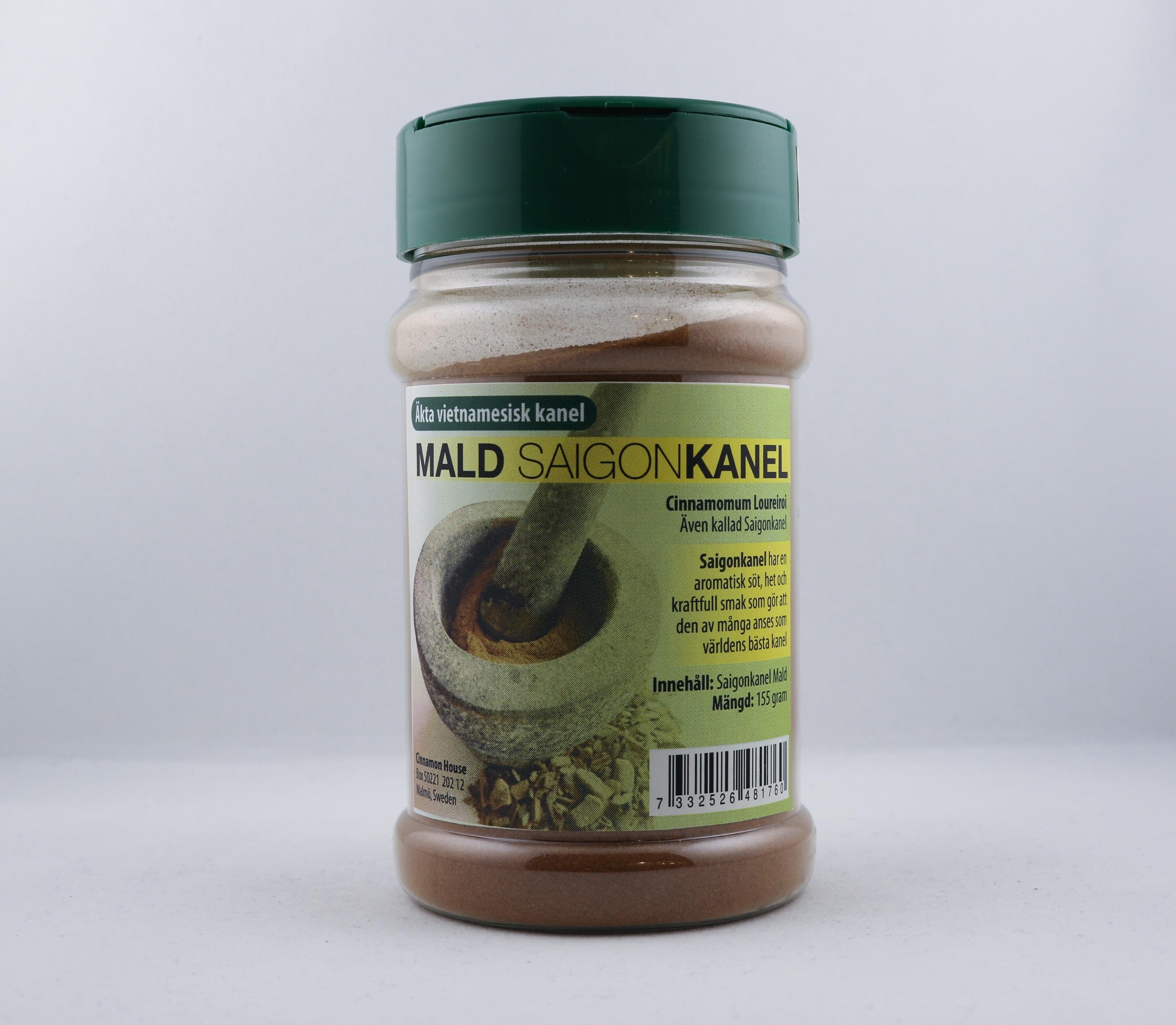 Äkta vietnamesisk kanel Mald Saigonkanel wellness ayurveda halmstad sweden svensk krydda