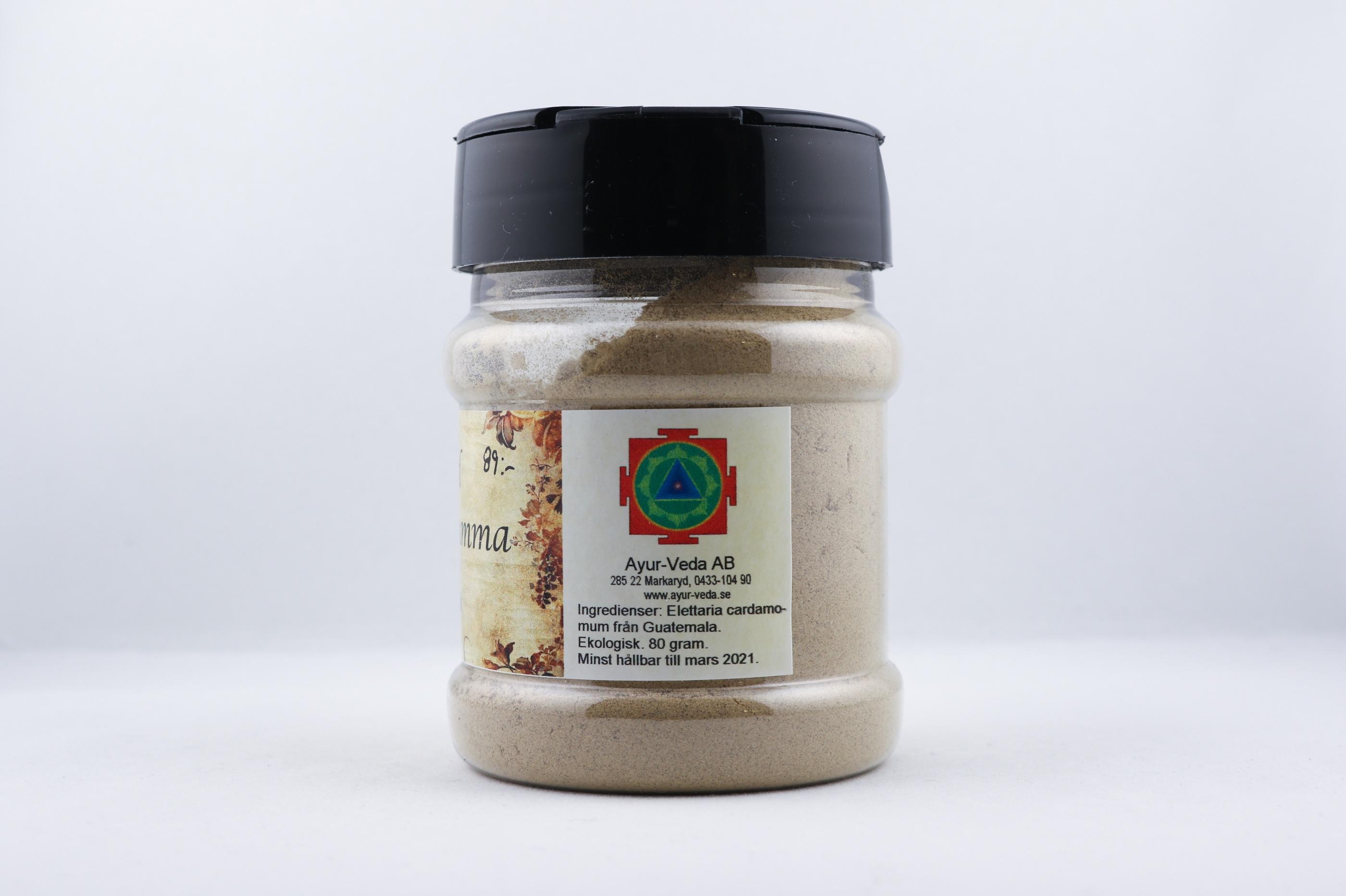Mald Kardemumma wellness ayurveda halmstad sweden svensk krydda