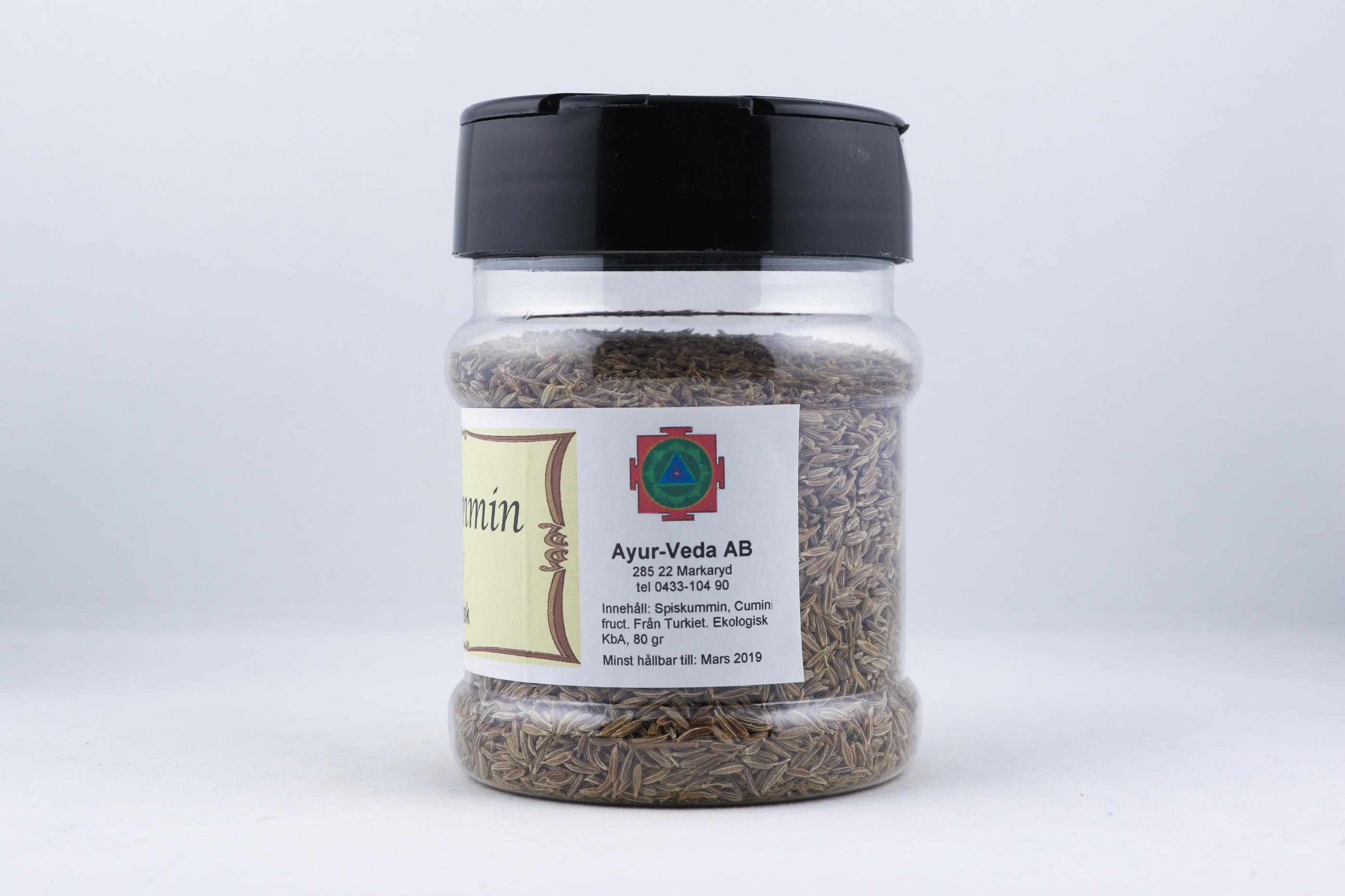 Spiskummin wellness ayurveda halmstad sweden svensk krydda  eko ekologisk