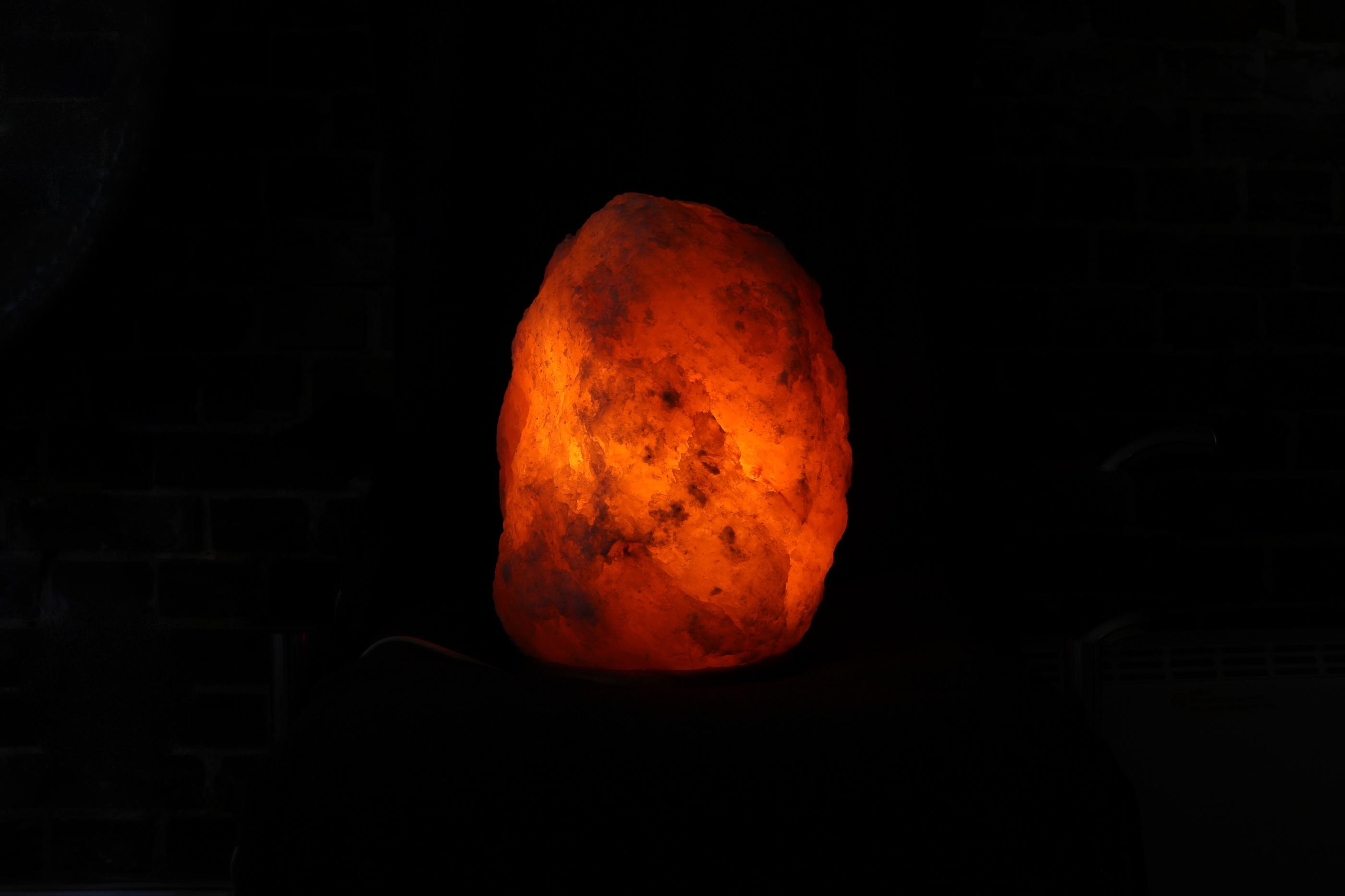Himalaya Saltlampa wellness ayurveda halmstad sweden svensk lampa