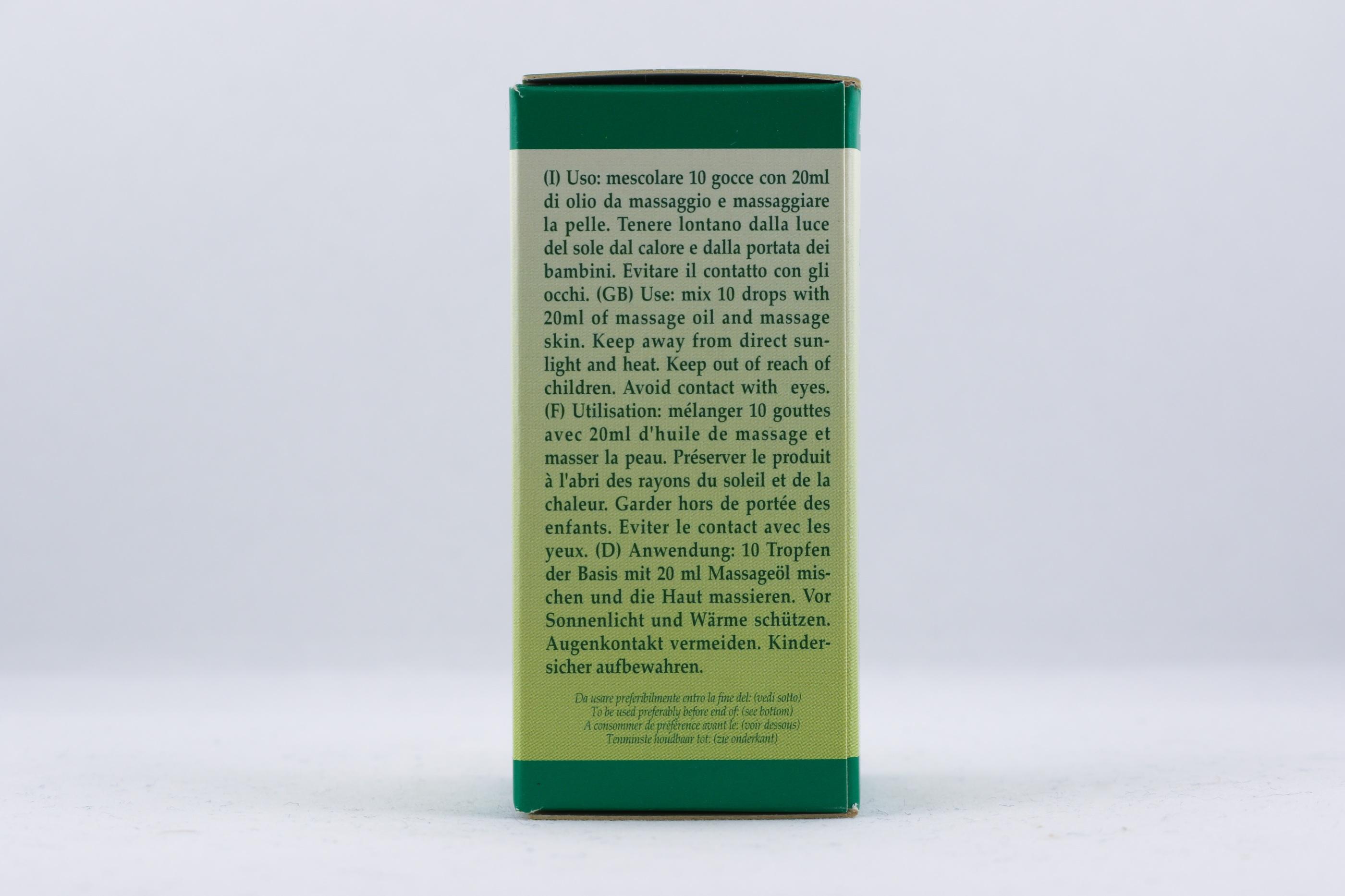 Ajowan olja wellness ayurveda halmstad sweden svensk eterisk aroma olja