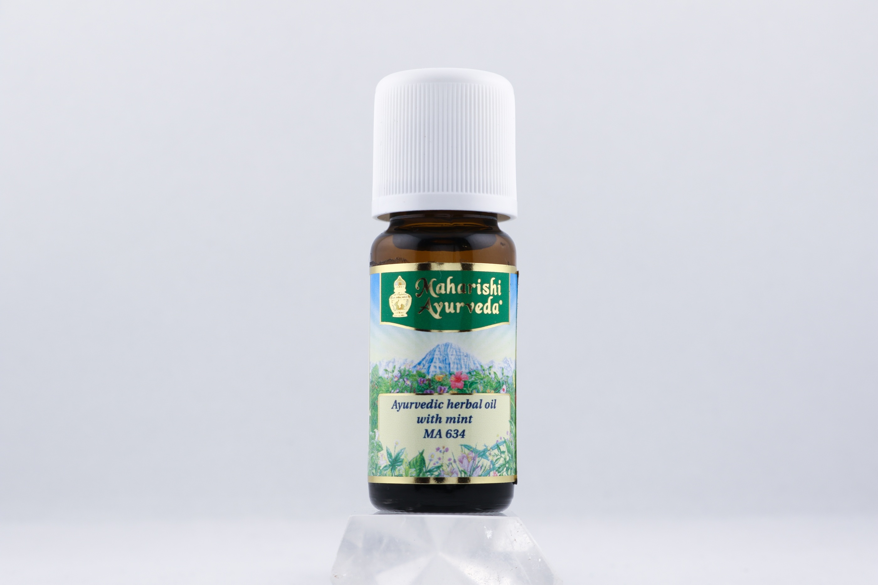 Ayurvedisk örtolja med mint wellness ayurveda halmstad sweden svensk eterisk aroma olja