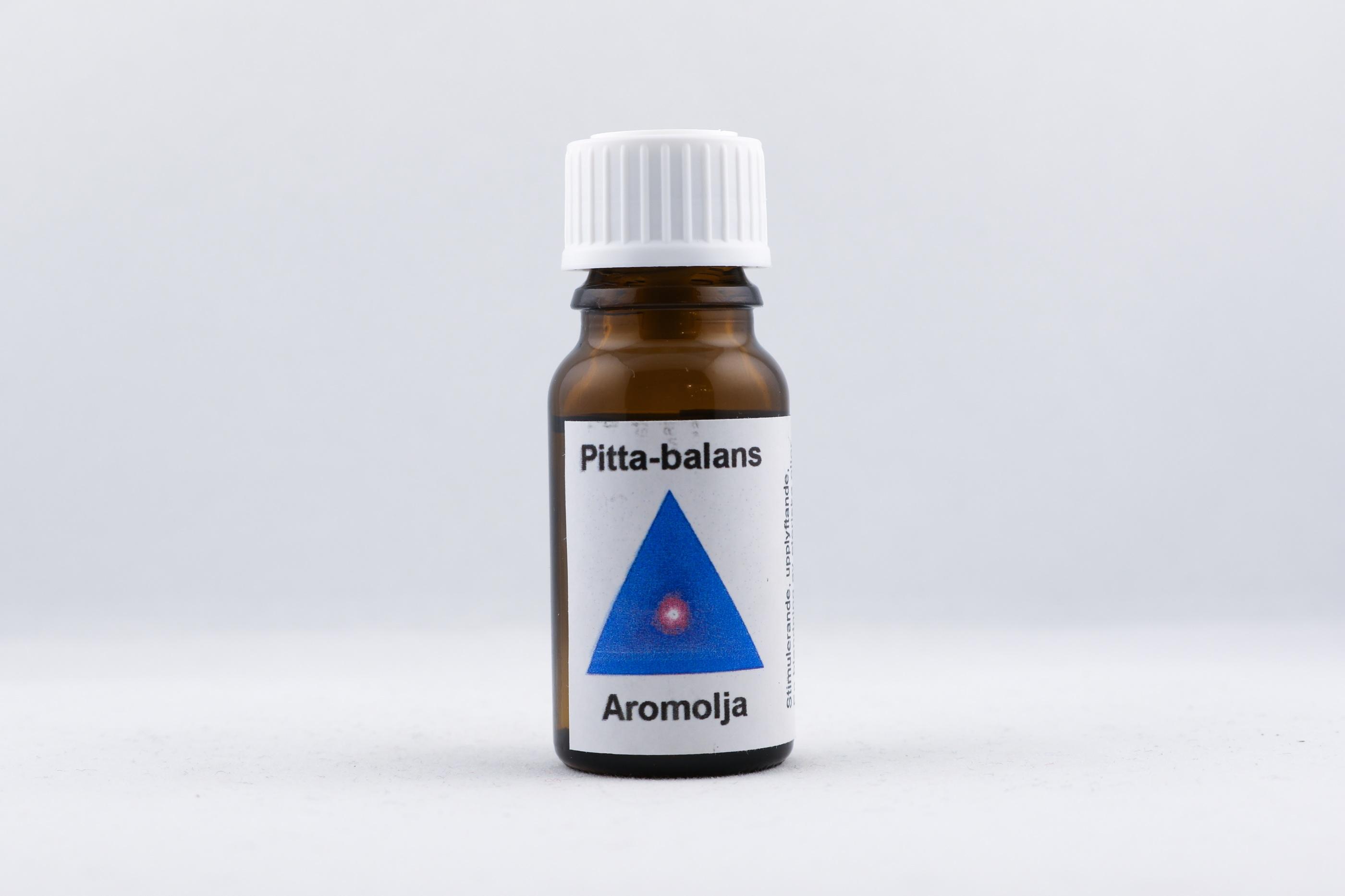 Pitta-balans eterisk olja wellness ayurveda halmstad sweden svensk eterisk aroma olja