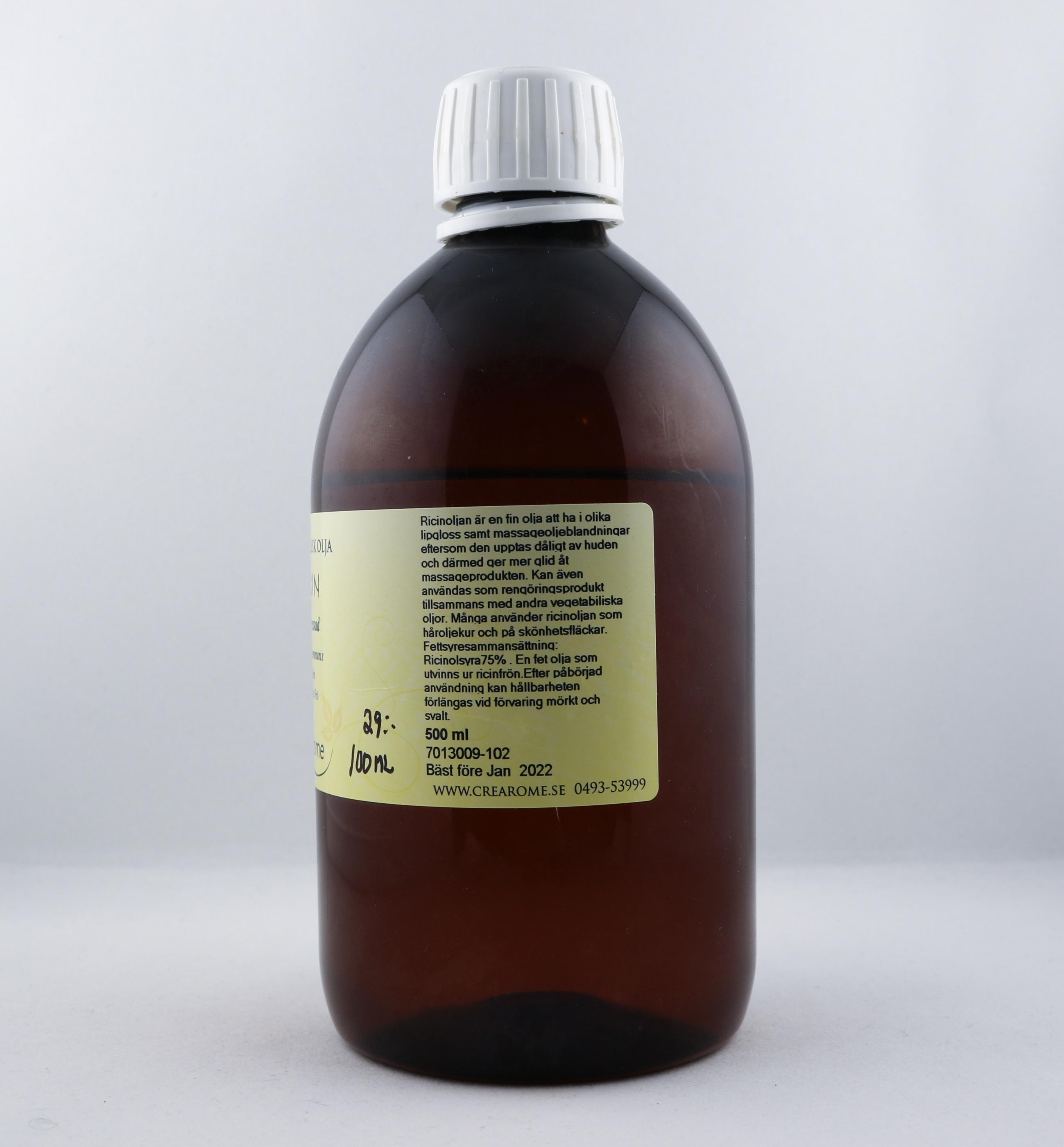 Ricin olja wellness ayurveda halmstad sweden svensk massage olja