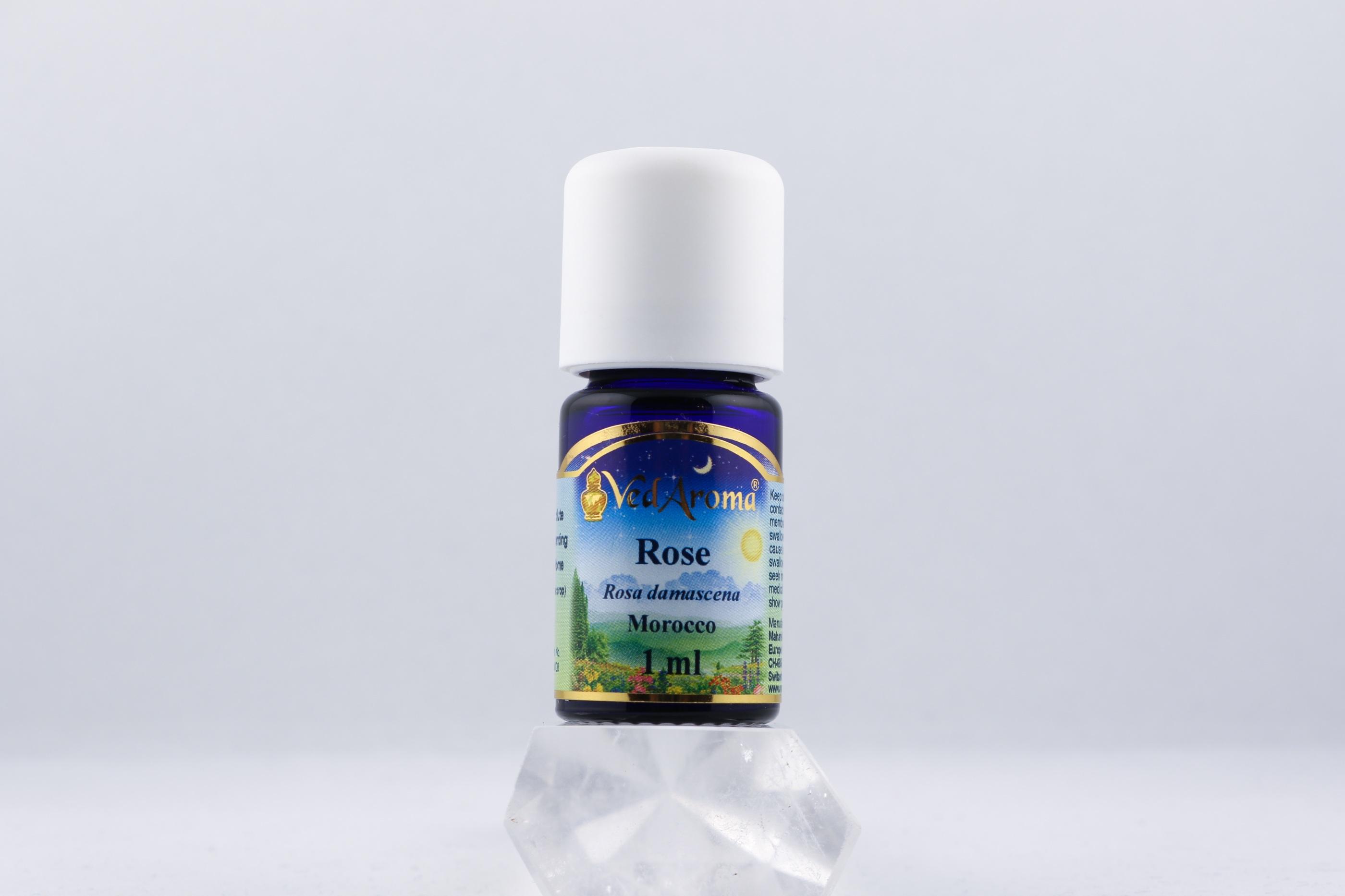 Ros olja wellness ayurveda halmstad sweden svensk eterisk aroma olja