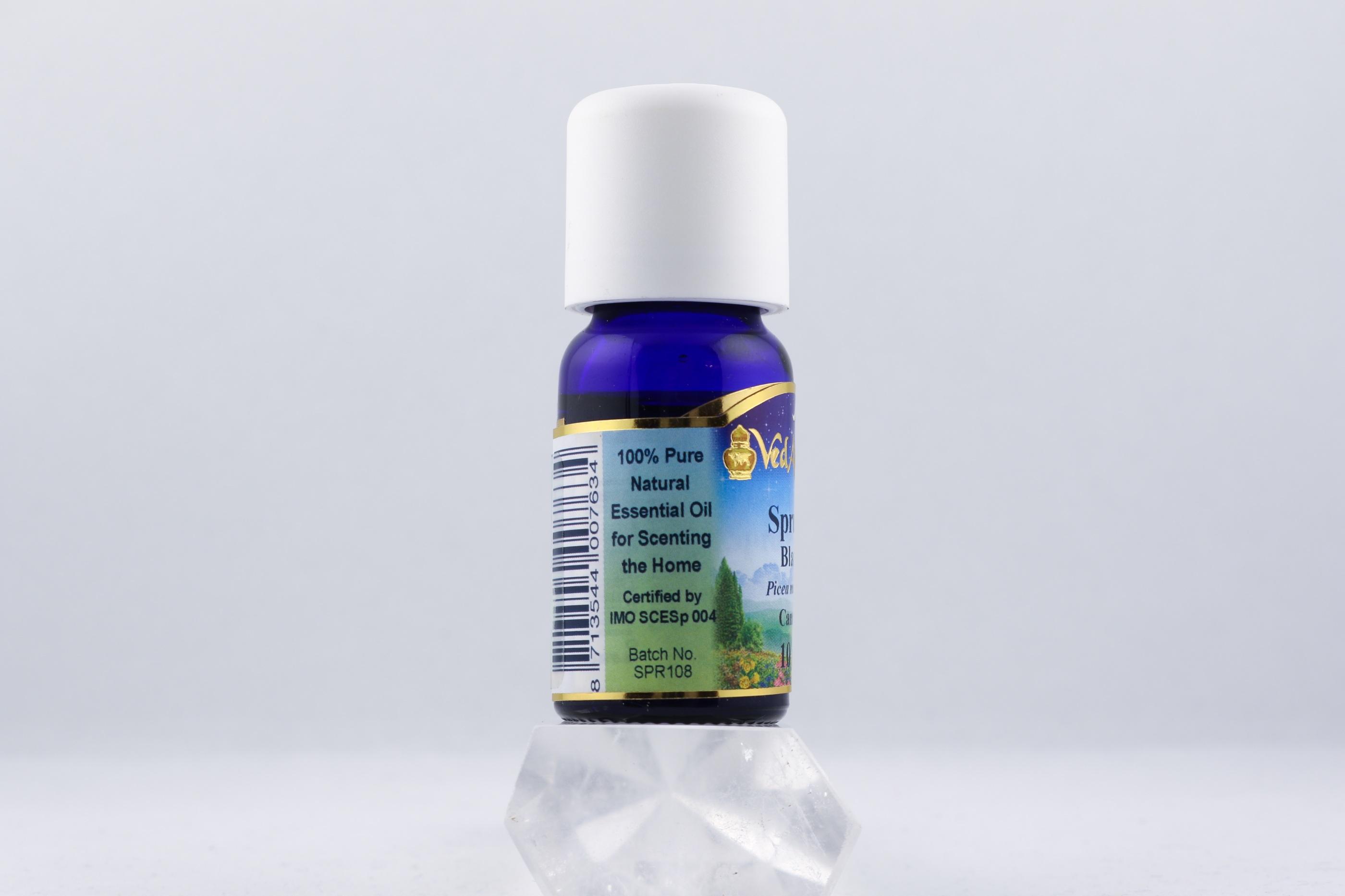 Spruce Black olja wellness ayurveda halmstad sweden svensk eterisk aroma olja