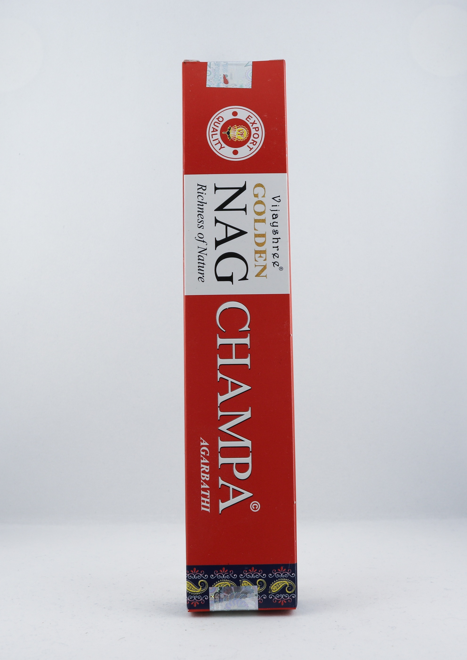 Golden Nag Champa rökelse wellness ayurveda halmstad sweden svensk aroma aromer